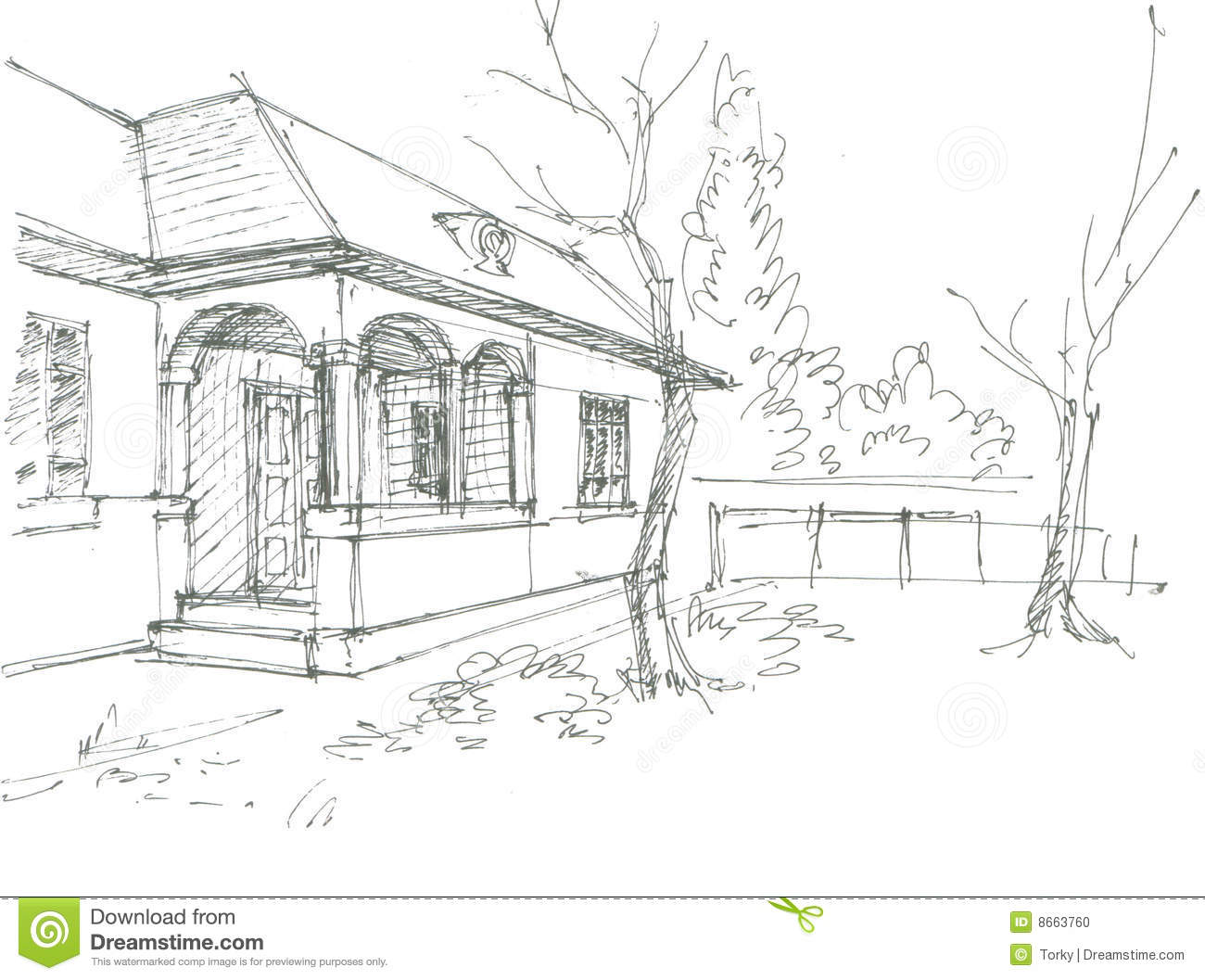 House as well Technology additionally Stock Photo Village House Sketch Image8663760 additionally 275460 ex le Of A Farm House Drawing Used As A Shoot Card Cover further 17803361006928292. on sketches of houses in landscape