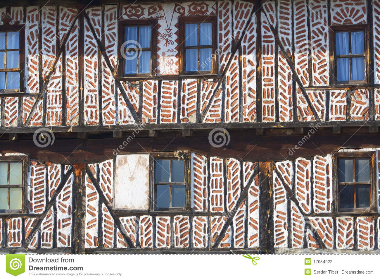 Village House Wall Texture Stock Photo Image Of Timber