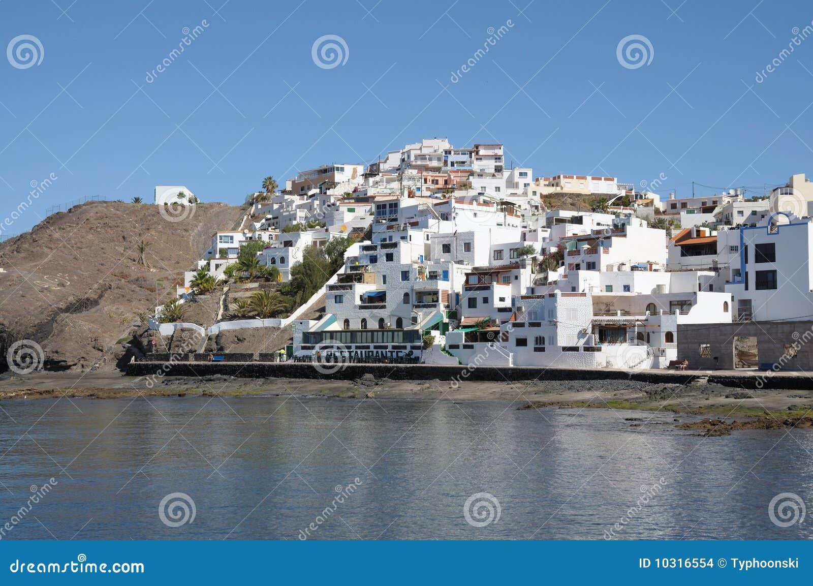 Village Las Playitas  Fuerteventura  Spain Stock Images