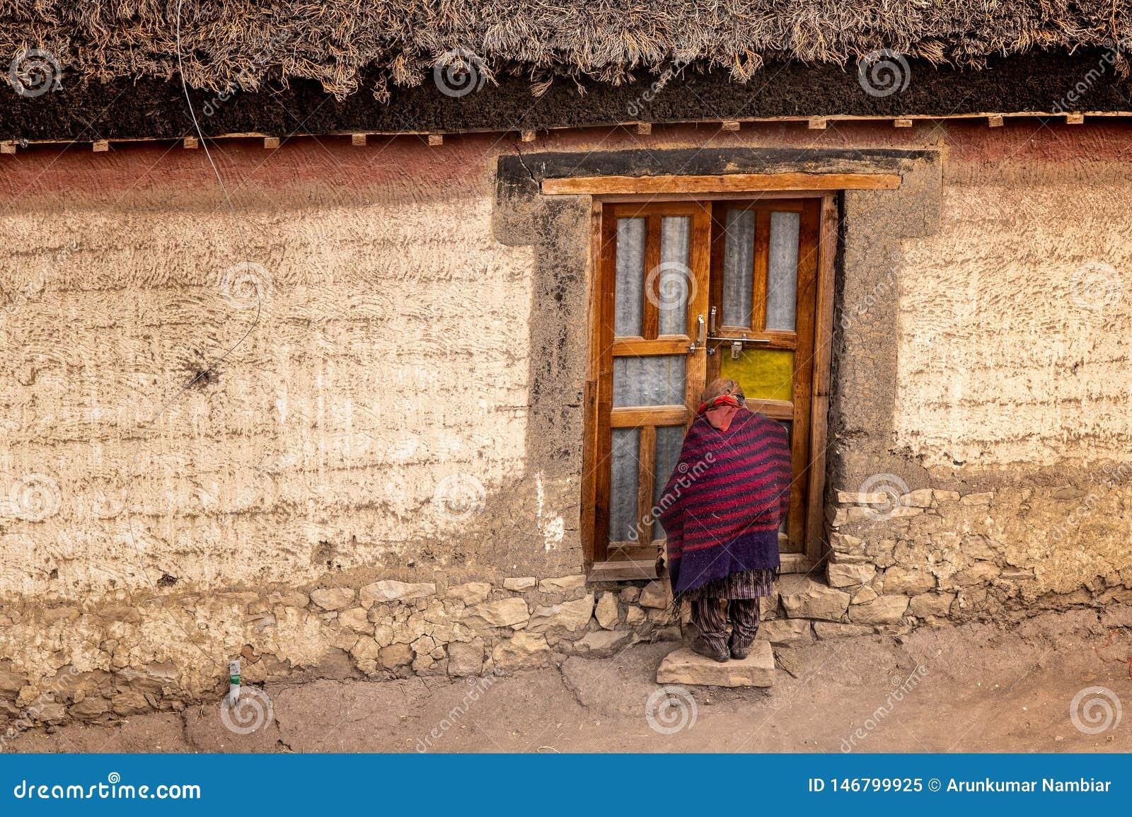 Village life, Spiti, Tibetan, himachal