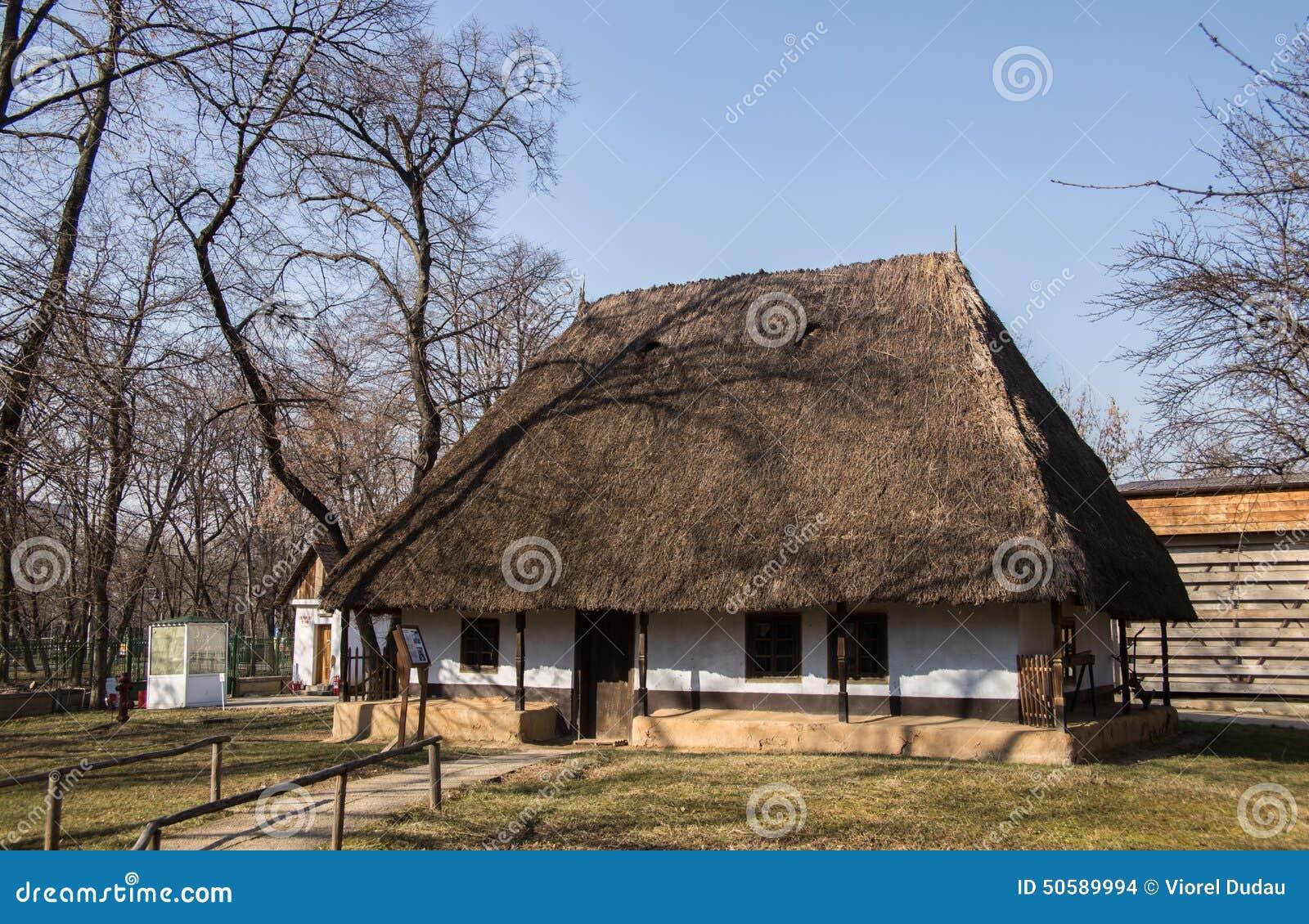 Village museum muzeul satului bucharest editorial stock image image 50589994 - Romanian peasant houses ...