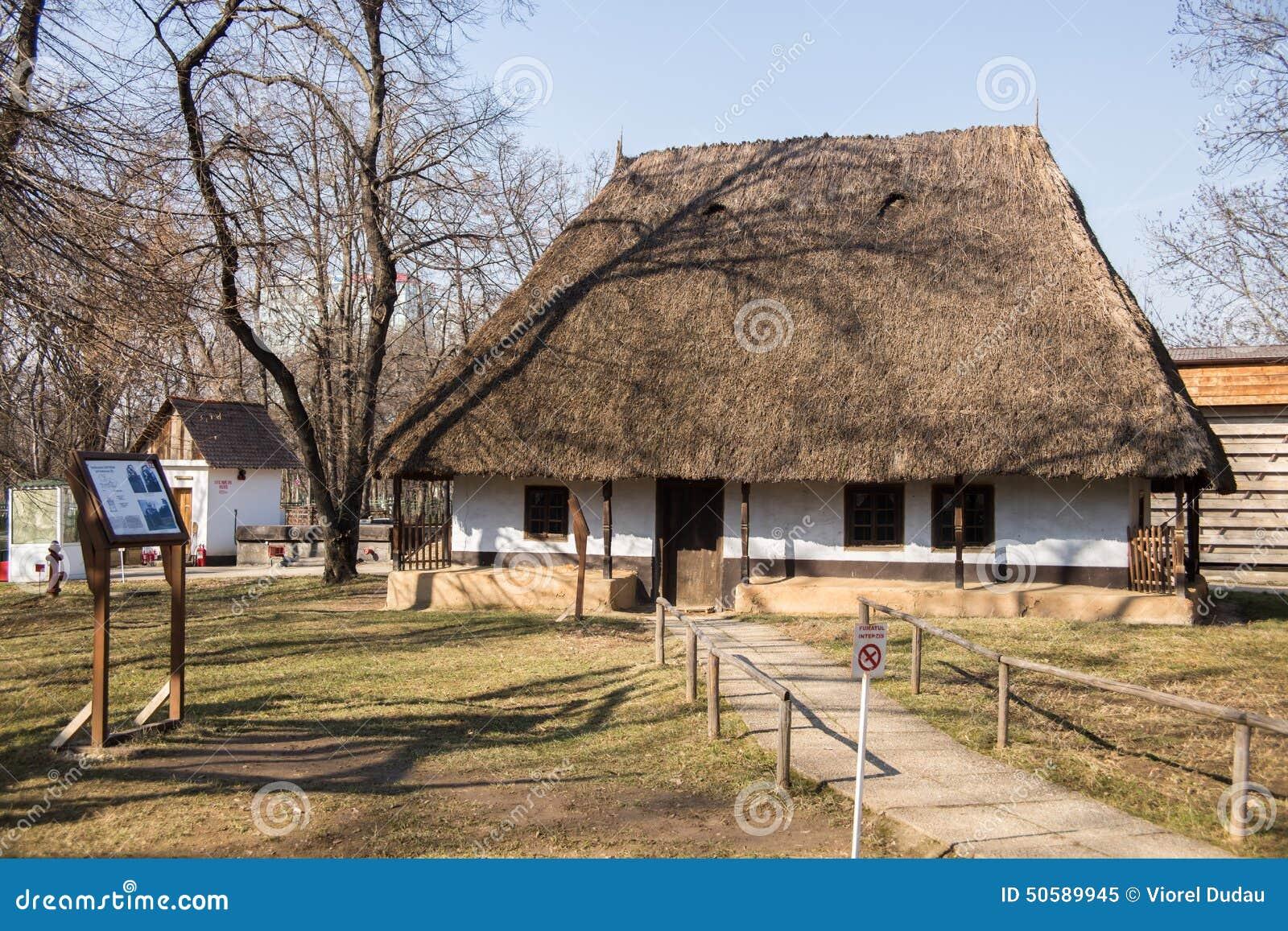 Village museum muzeul satului editorial image image 50589945 - Romanian peasant houses ...
