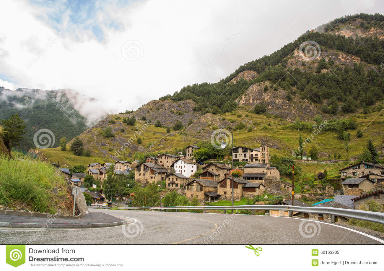 Village of Pal in Andorra