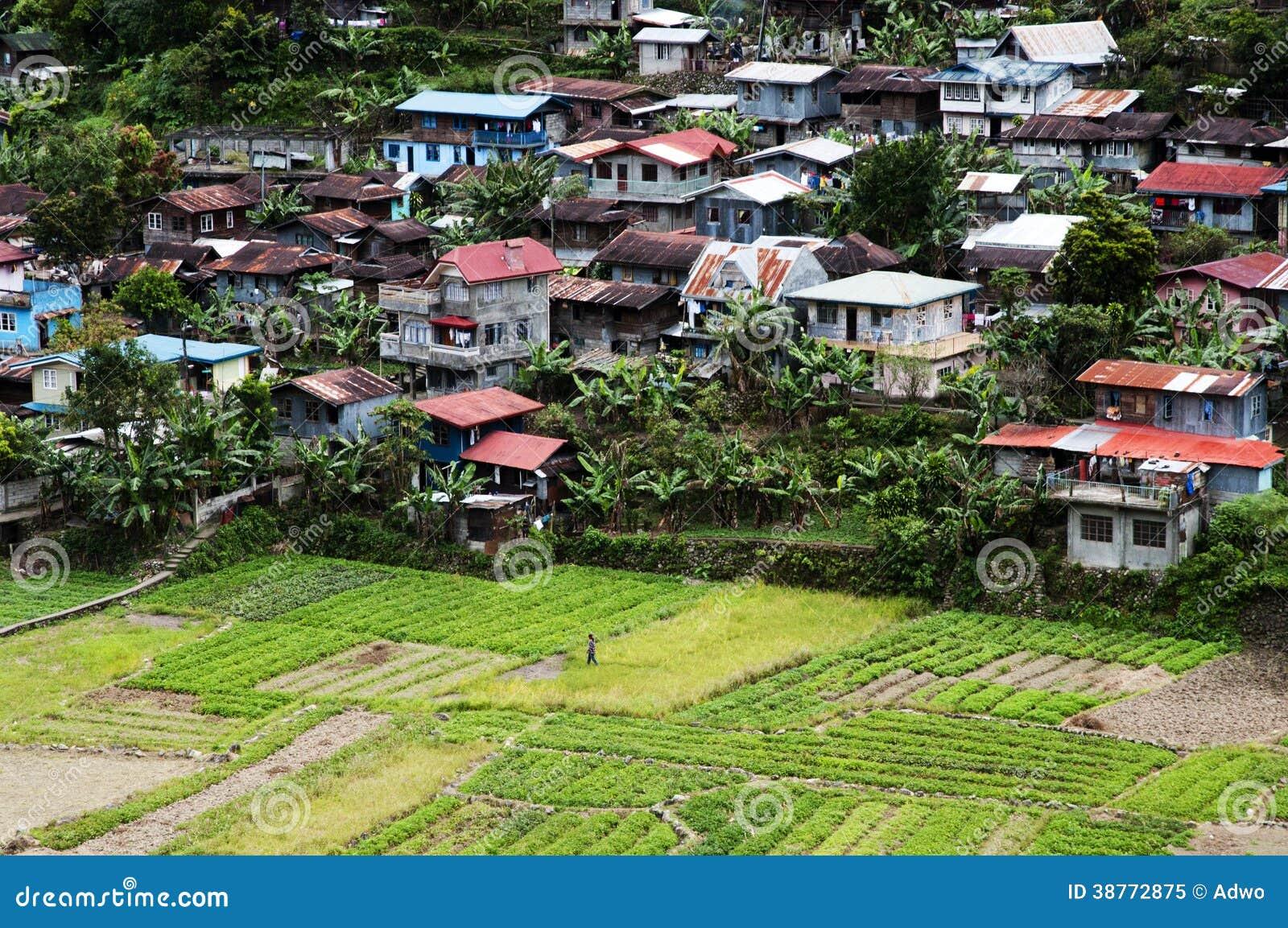 Village Philippines Stock Image Image Of Nature