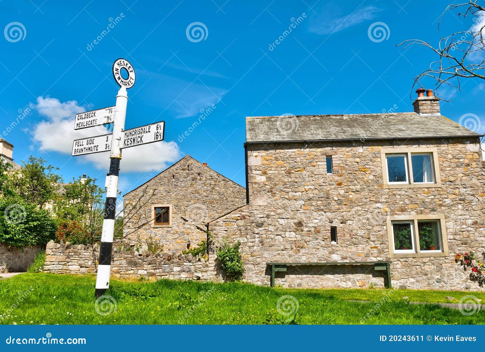 Village sign, Hesket Newmarket
