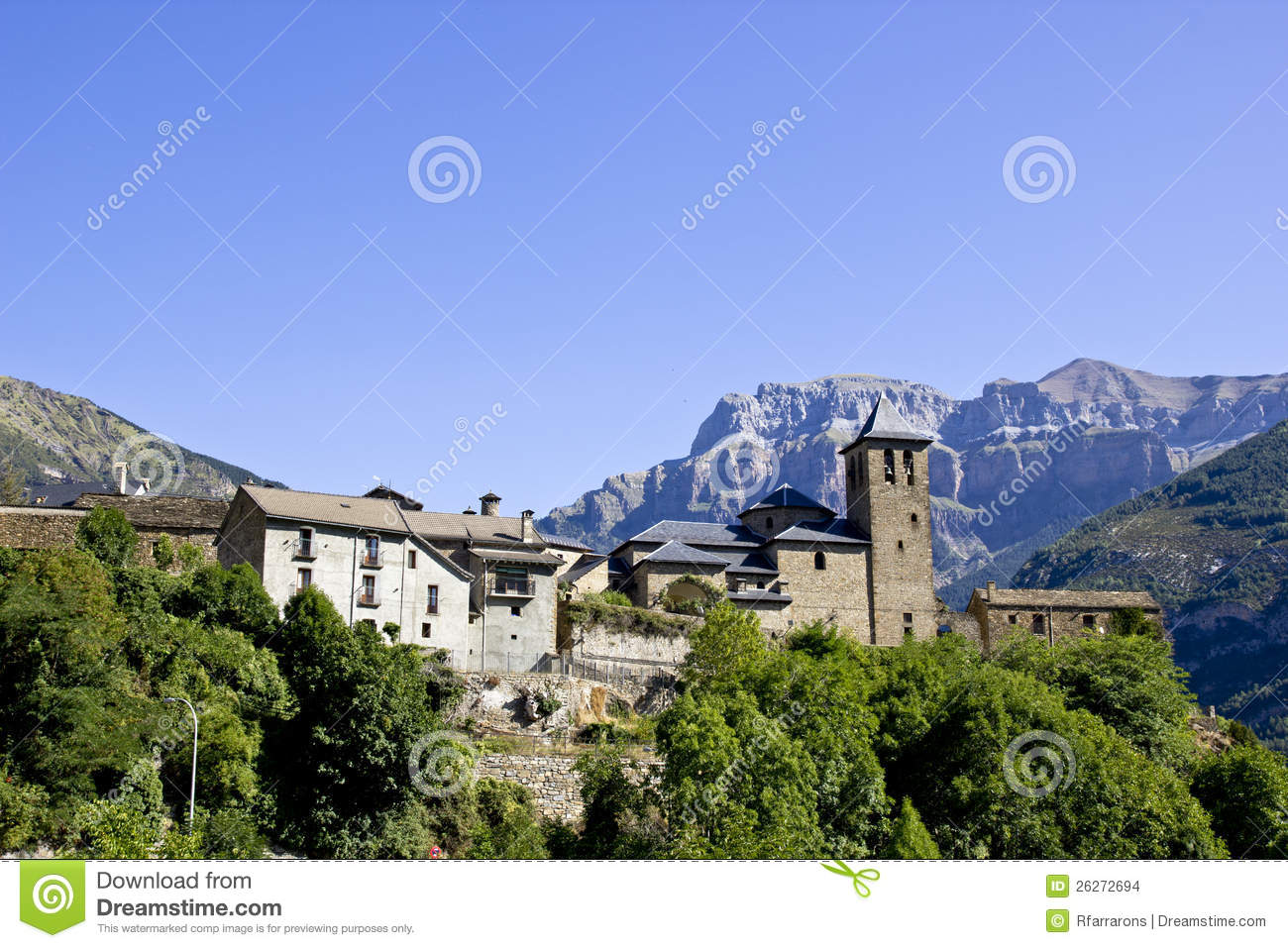 Torla Spain  city images : Village Of Torla, Spain Stock Images Image: 26272694