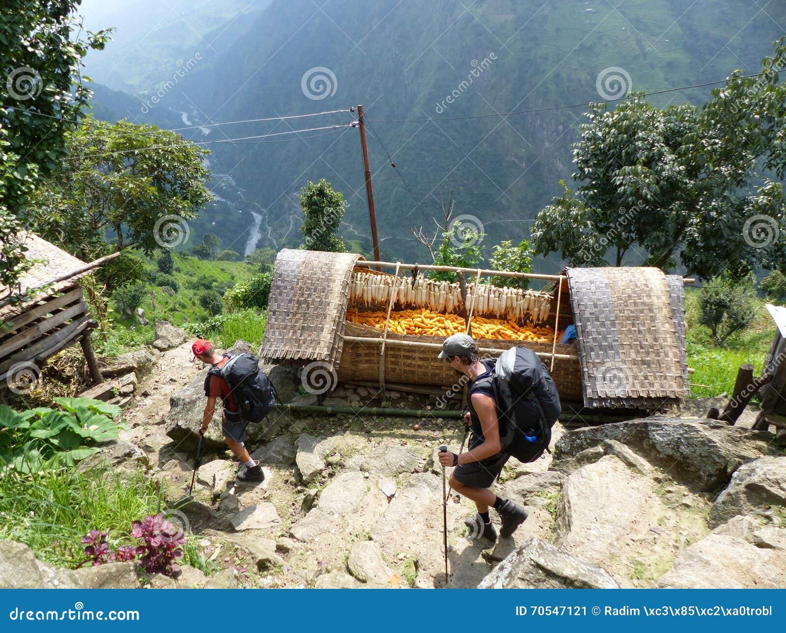 Village Upper Chipla in Nepal