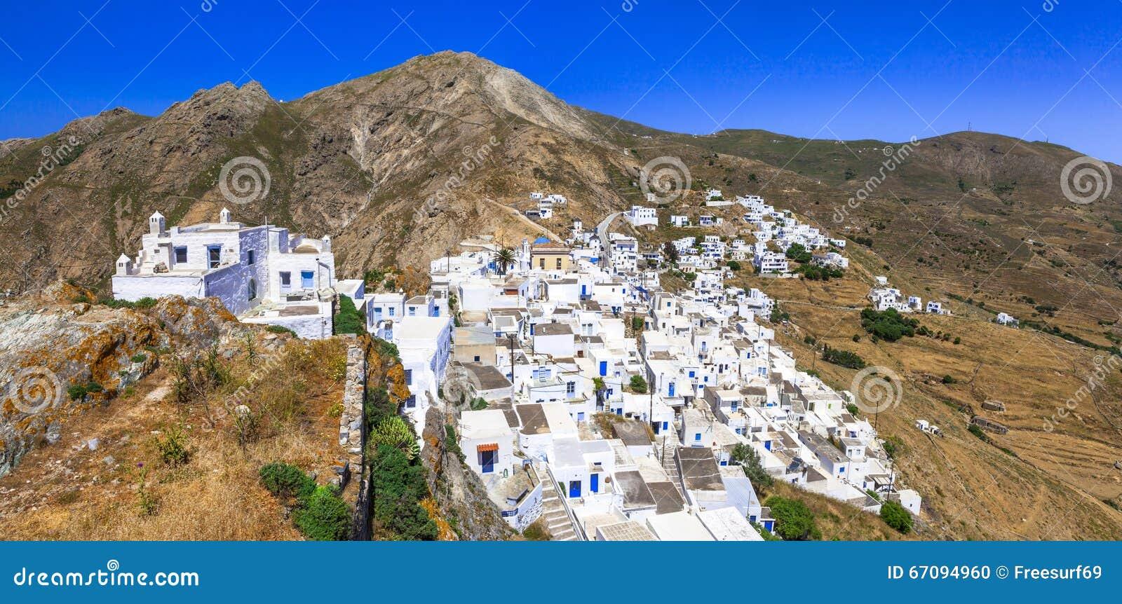 Villages traditionnels de la Grèce - le Serifos