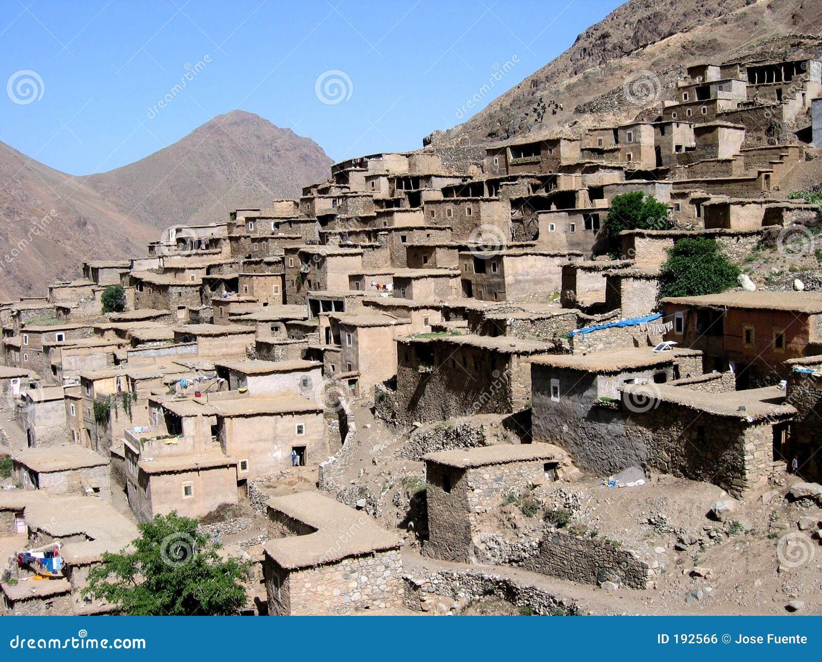 Villaggio del Marocco