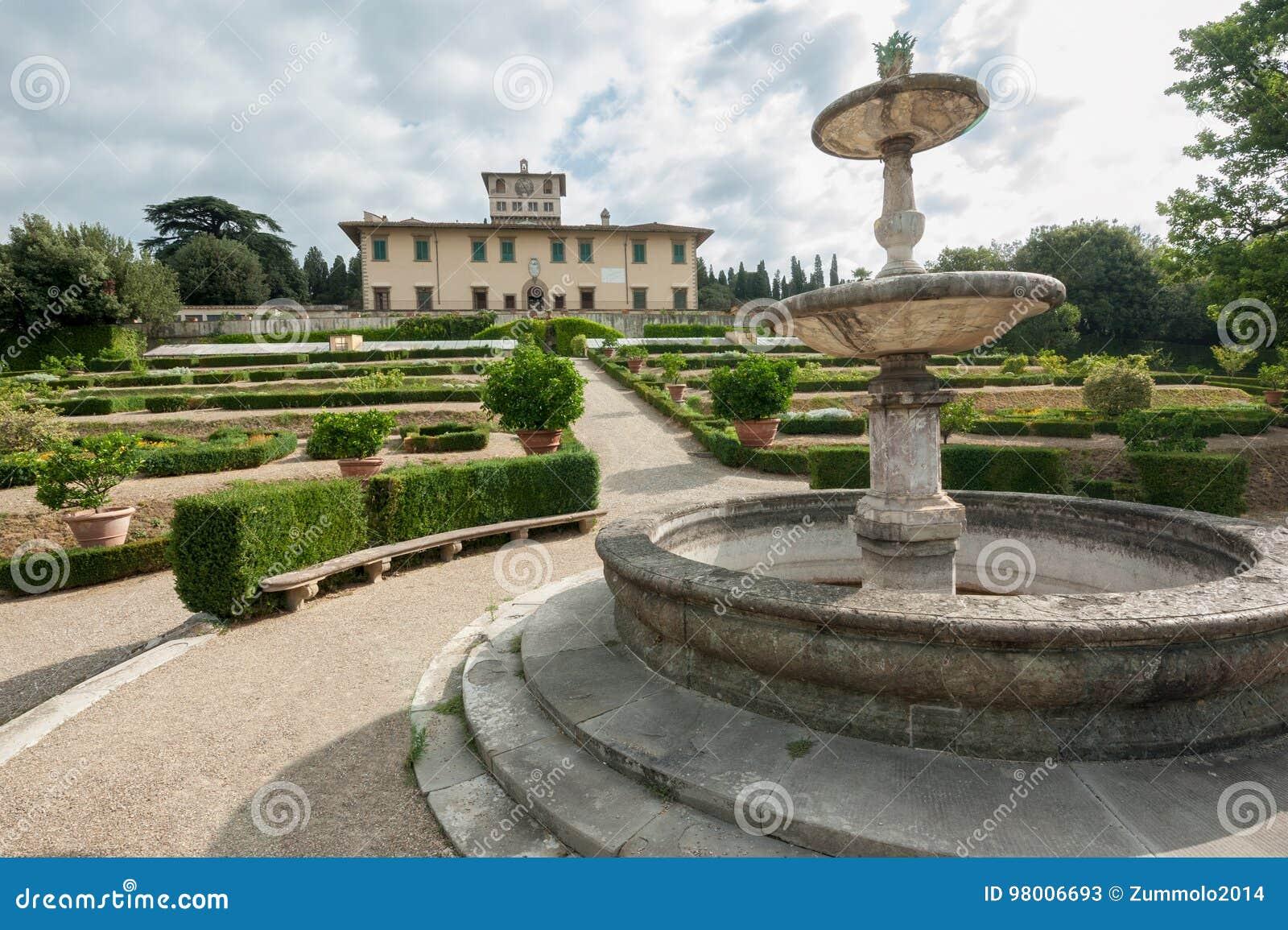 VillaLa Petraia, en gång uppehåll av den Medici familjen