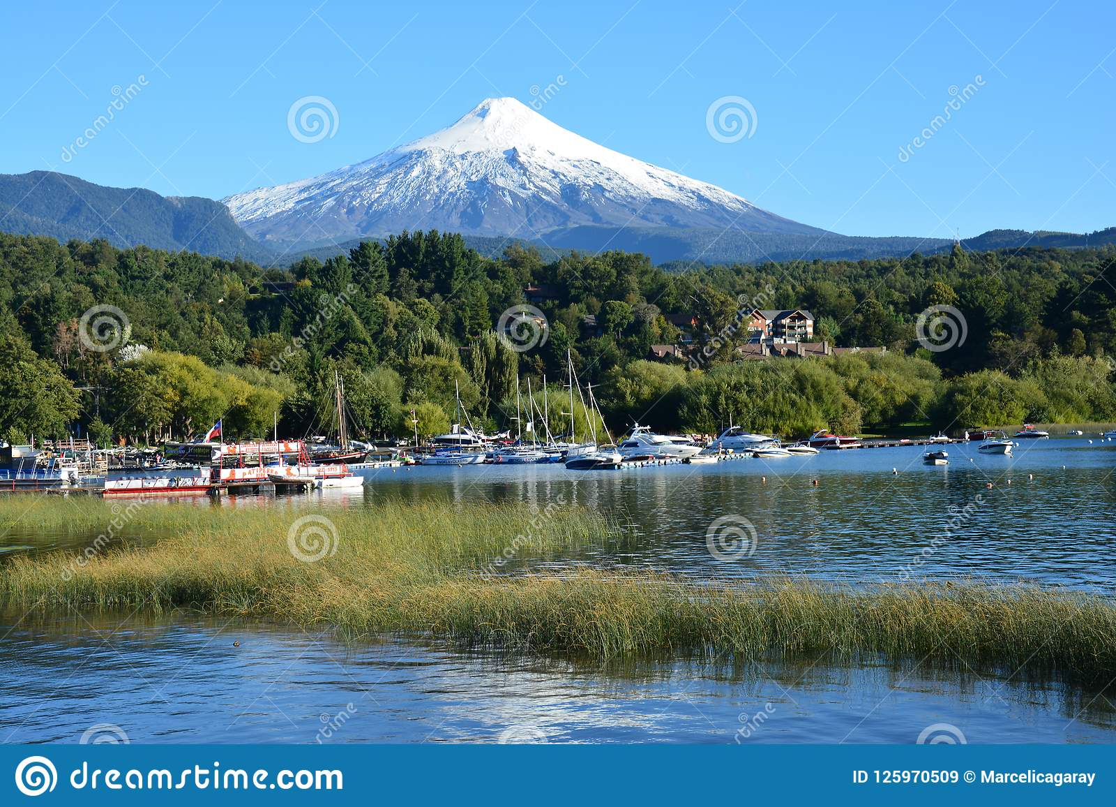 Villaricavulkaan in Pucon, Chili