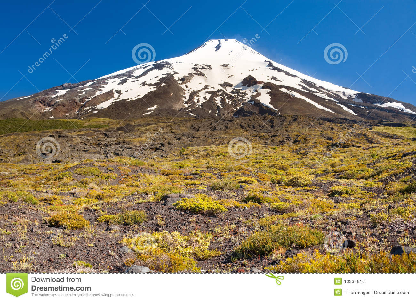 Villarrica wulkan