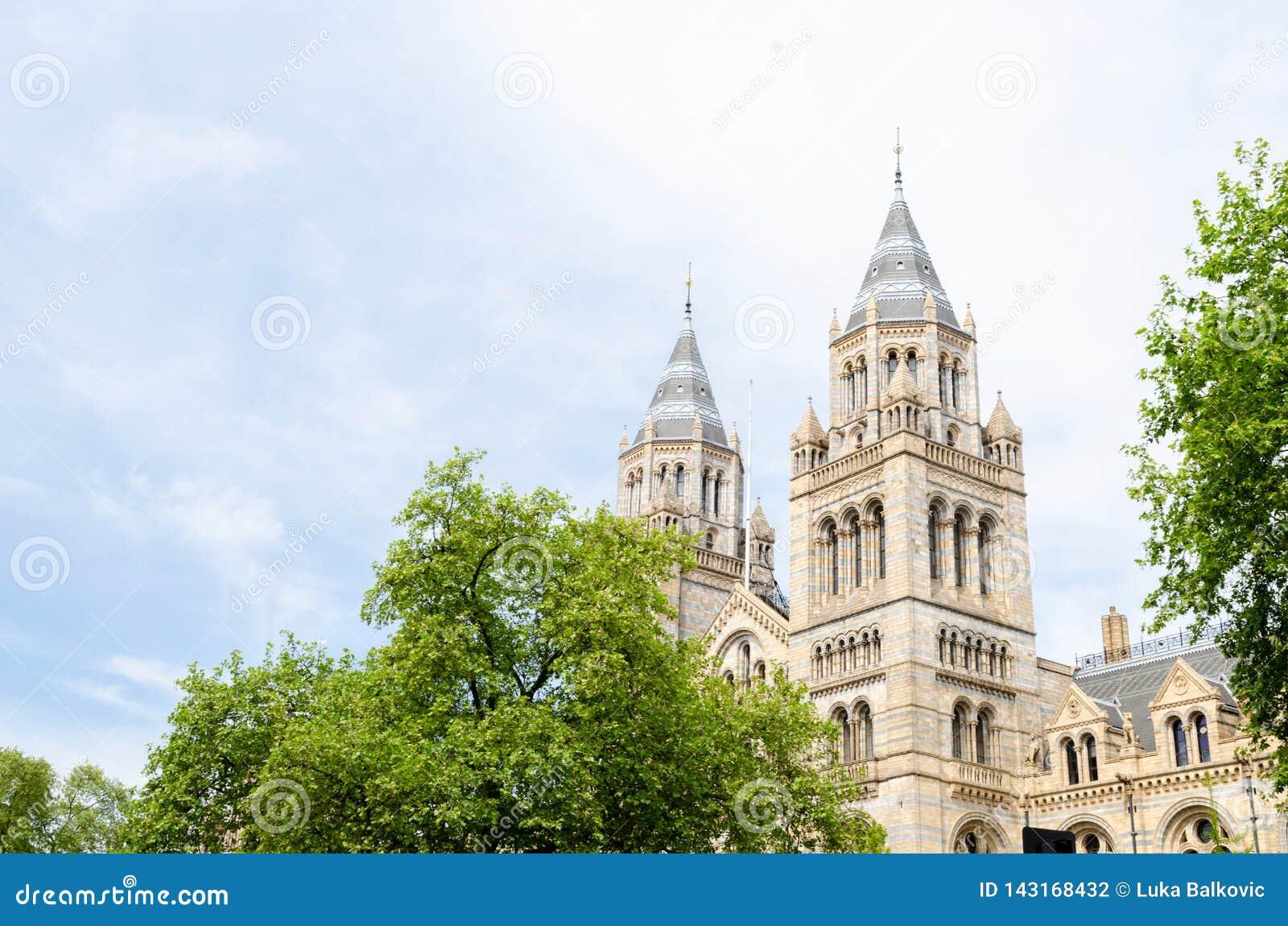 Ville/Angleterre de Londres : Côté sud de musée d histoire naturelle