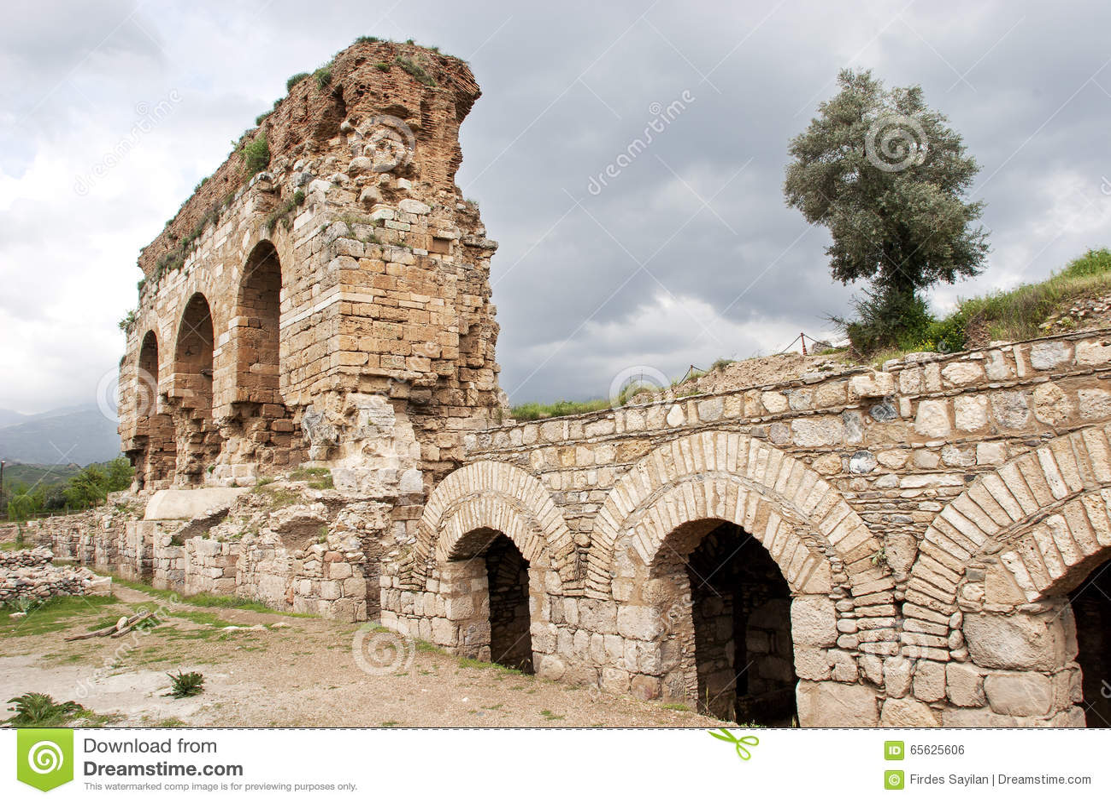 Ville antique de Tralleis, Turquie