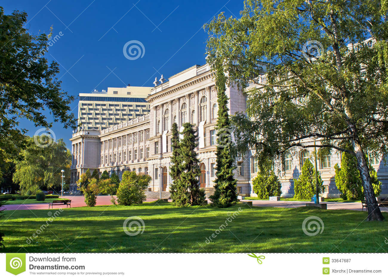 Ville d architecture et de nature de Zagreb