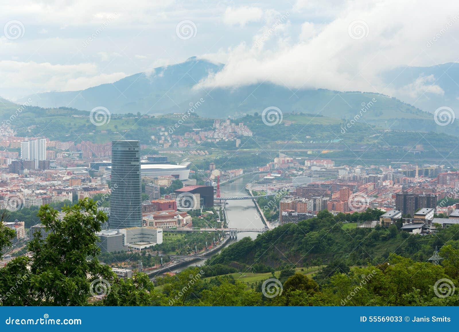 Ville de bilbao espagne image stock image du basque for Piscine bilbao