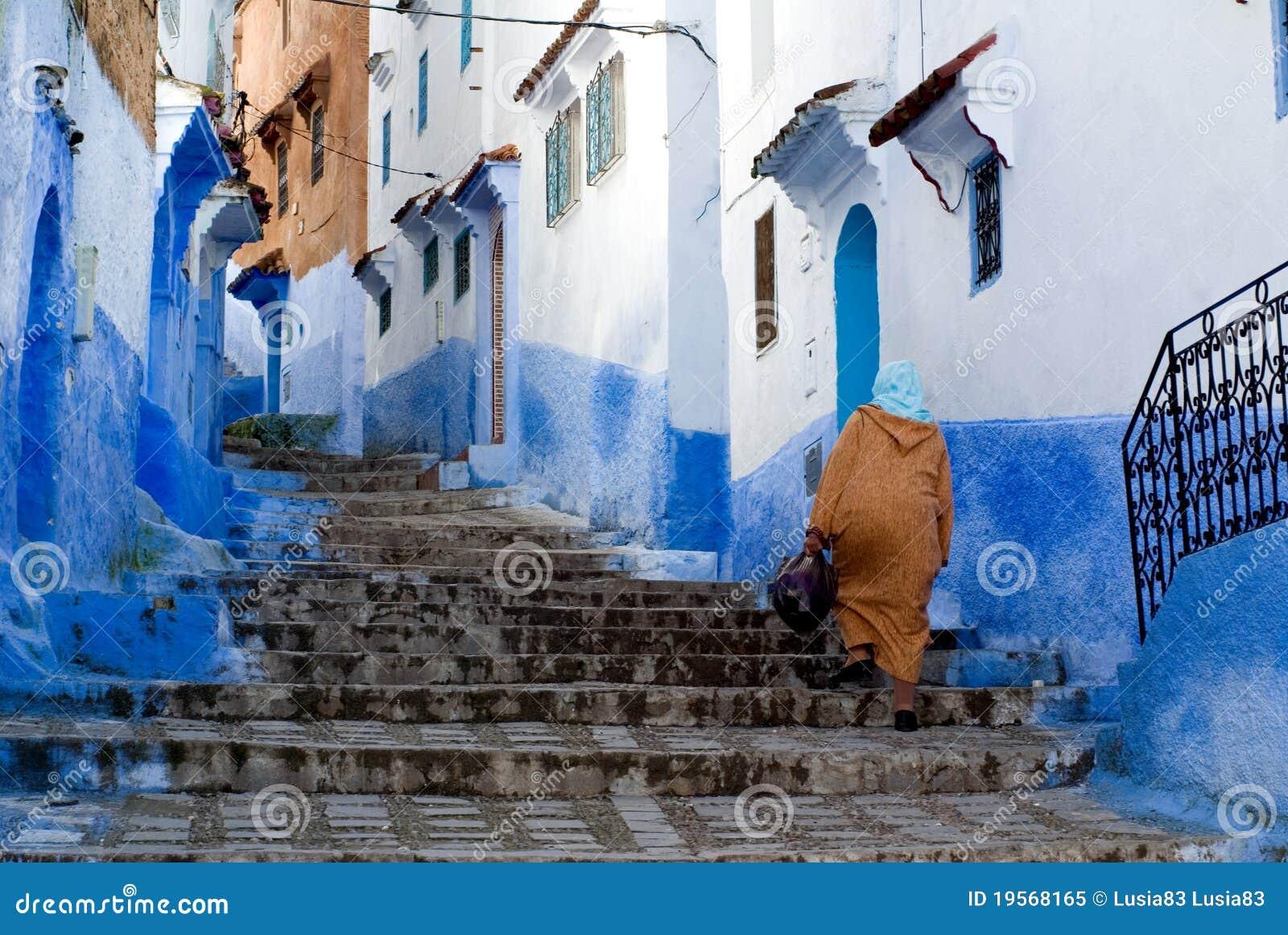 Ville de bleu de Chefchaouen