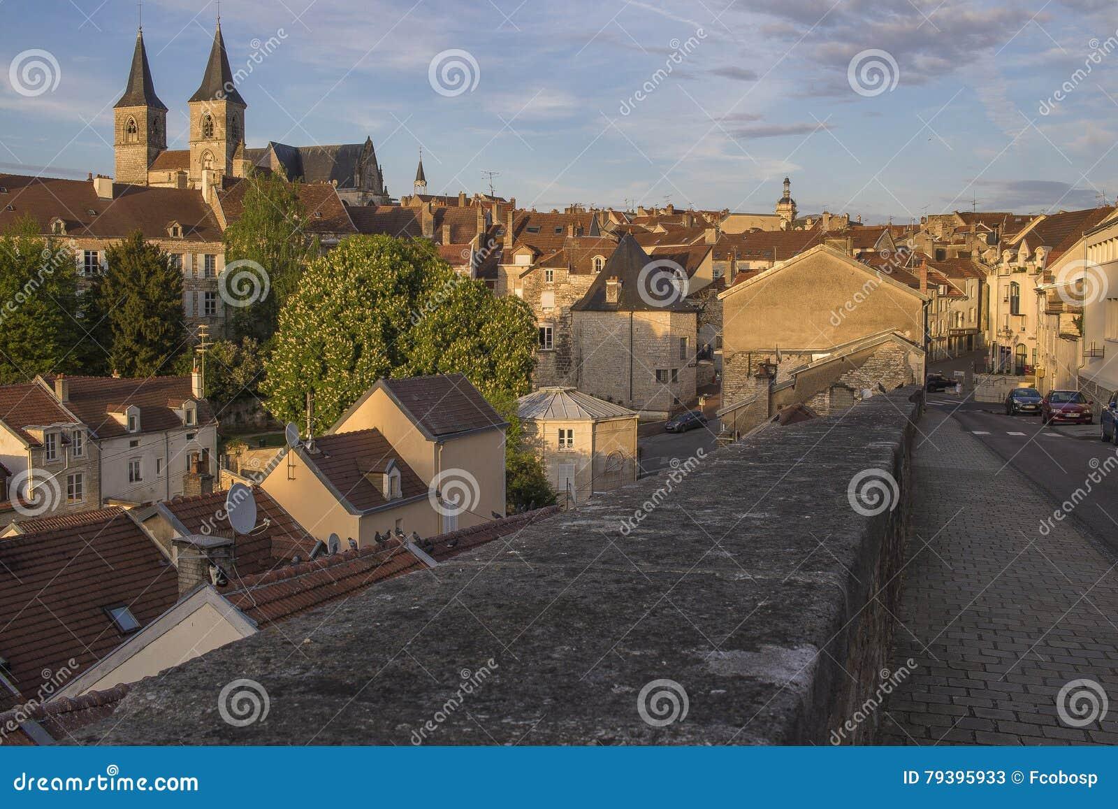 Ville de Chaumont, France
