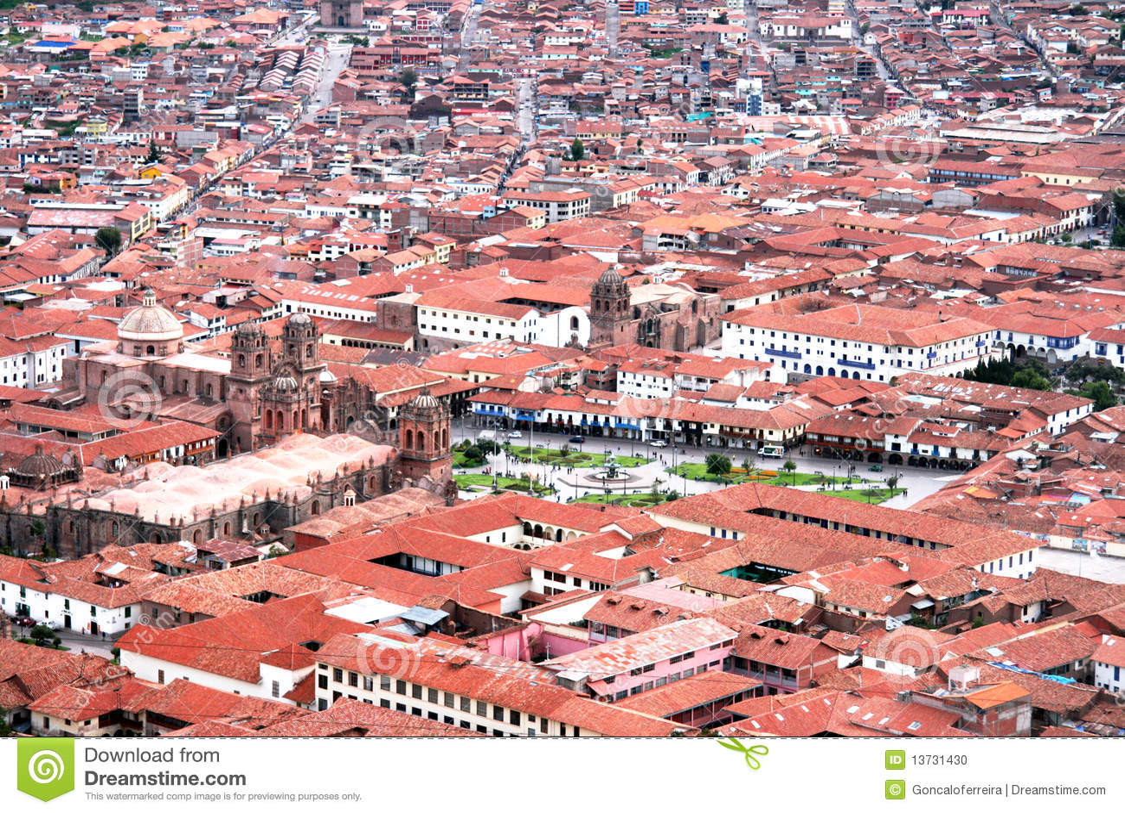 Ville de Cuzco