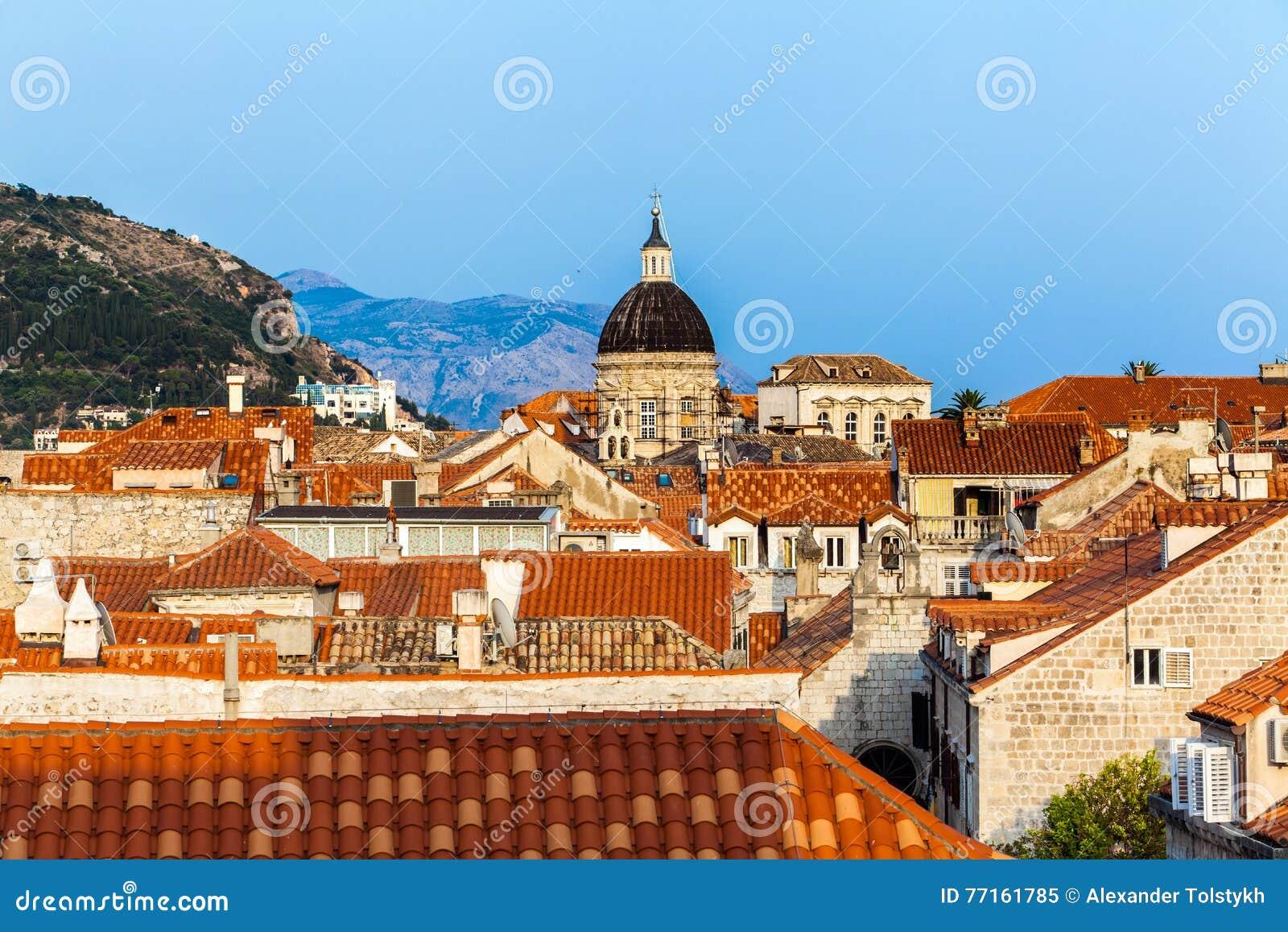Ville de Dubrovnik en Croatie