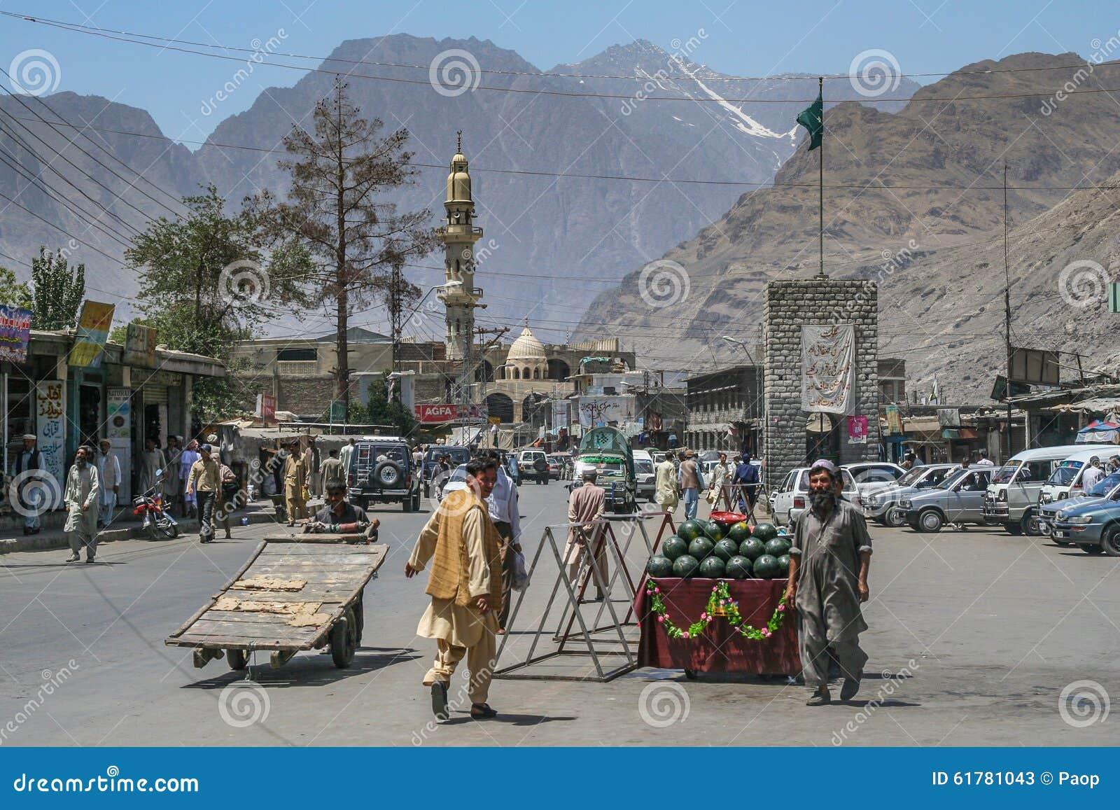 Ville de Gilgit