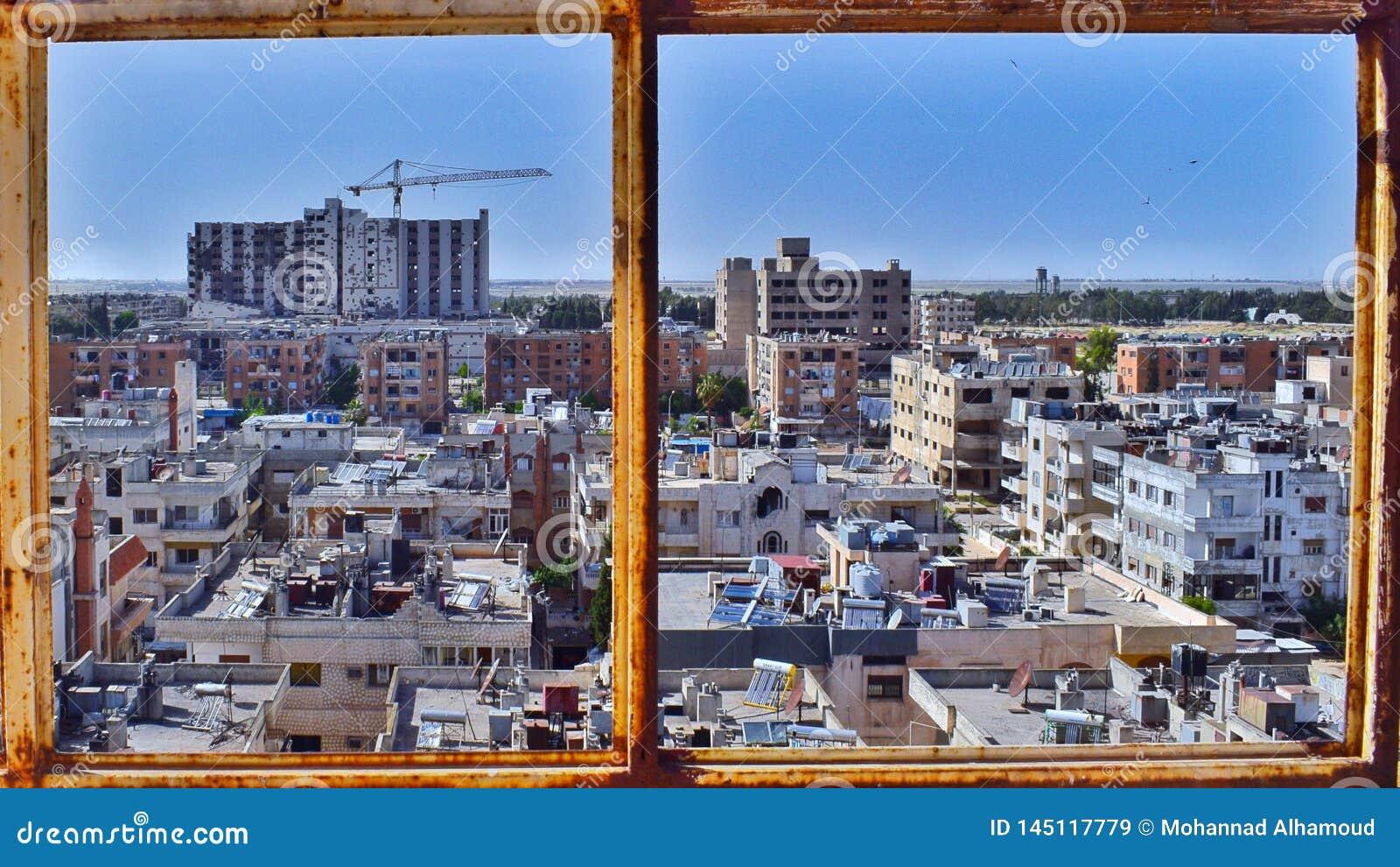 Ville de Homs en Syrie