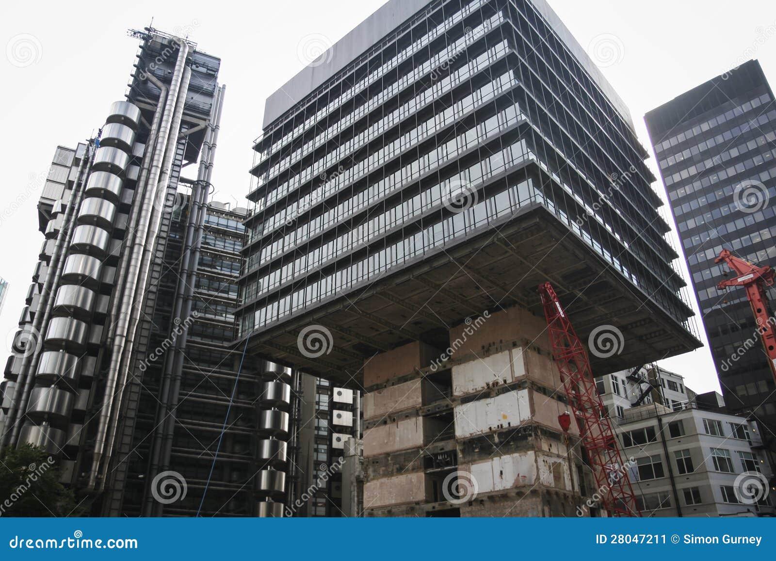Ville de larchitecture r u dimmeuble de bureaux de londres image