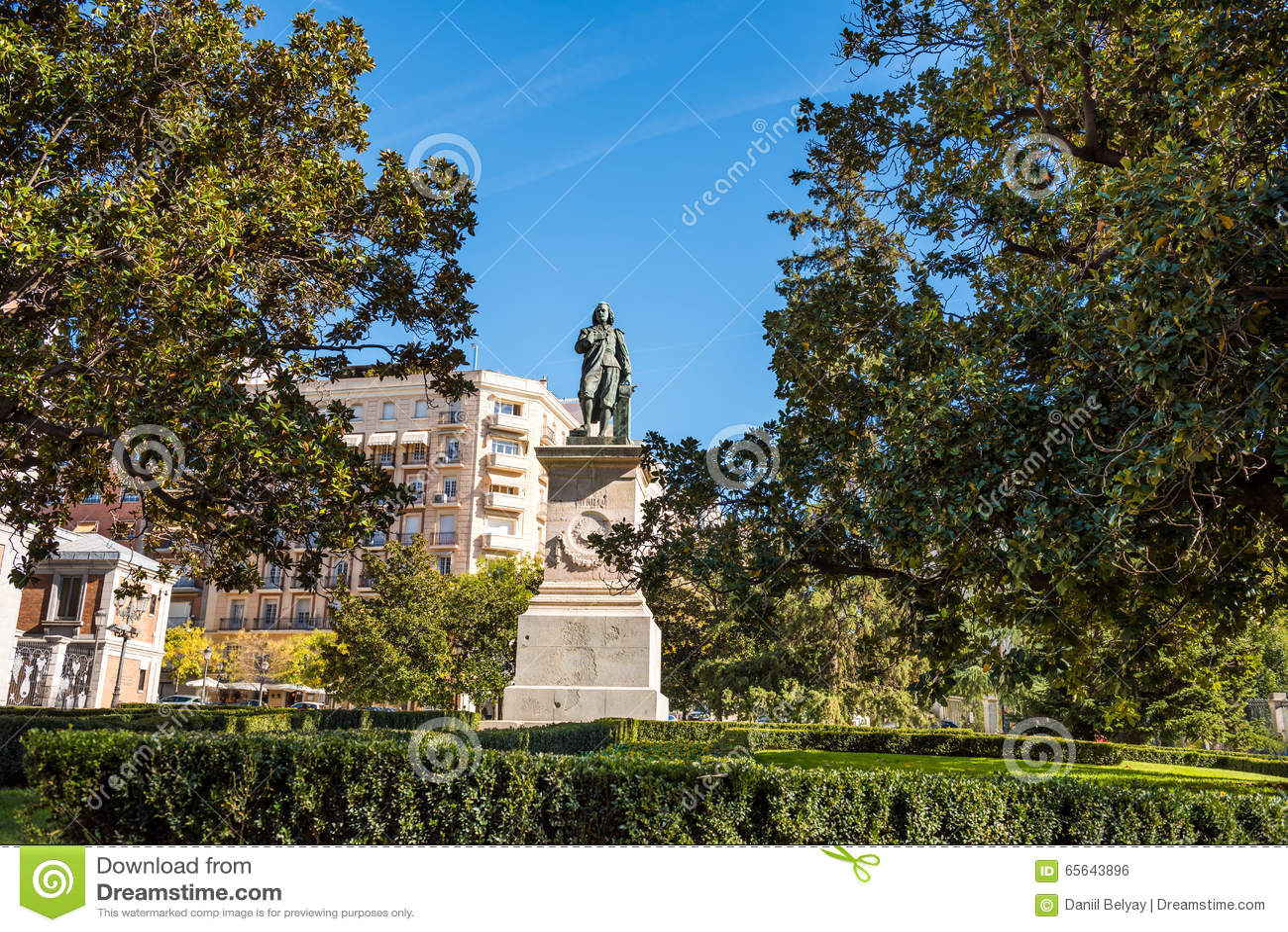 Ville de Madrid - tirs de l Espagne - voyage l Europe