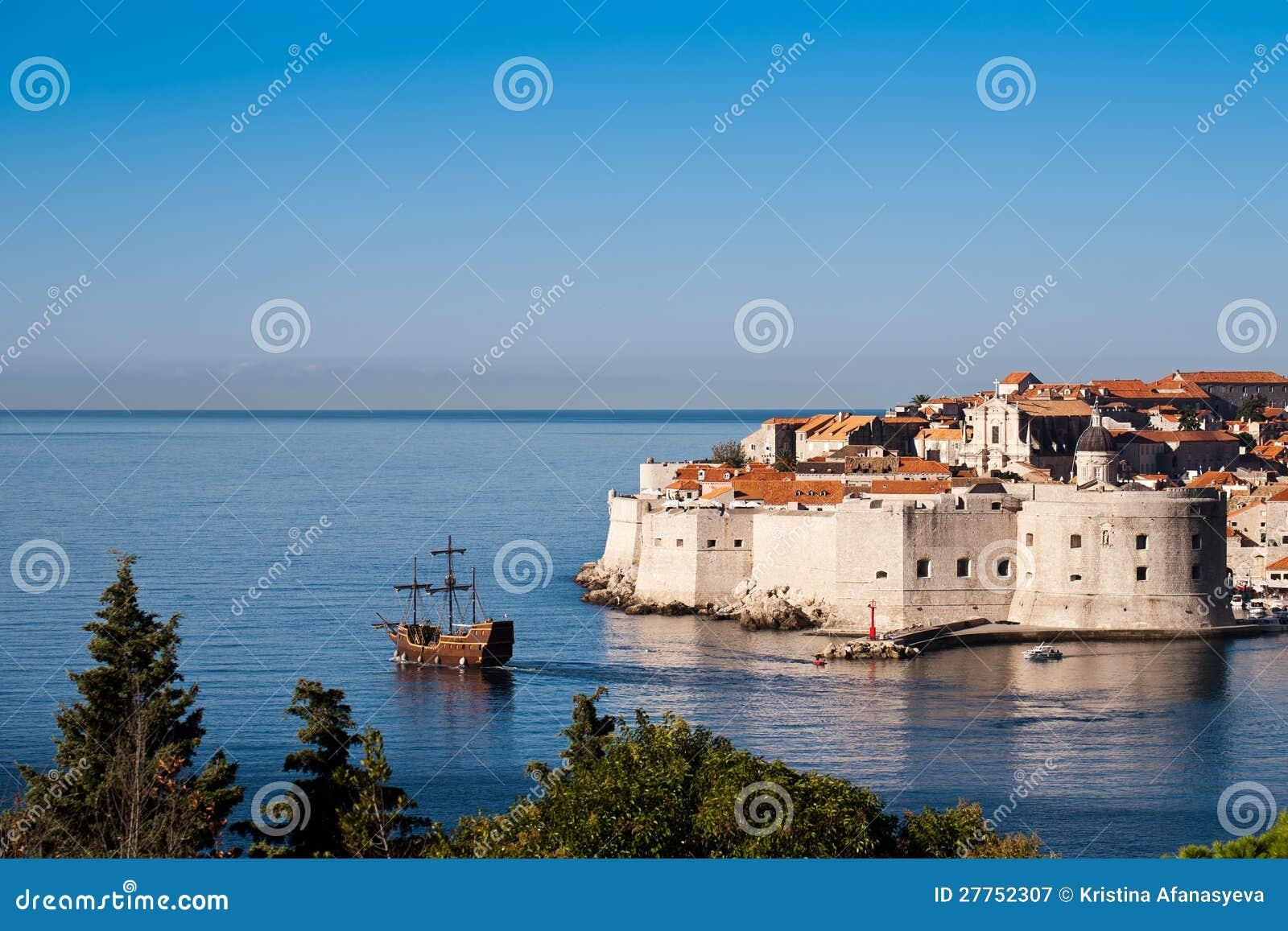 Ville de patrimoine mondial vieille de Dubrovnik