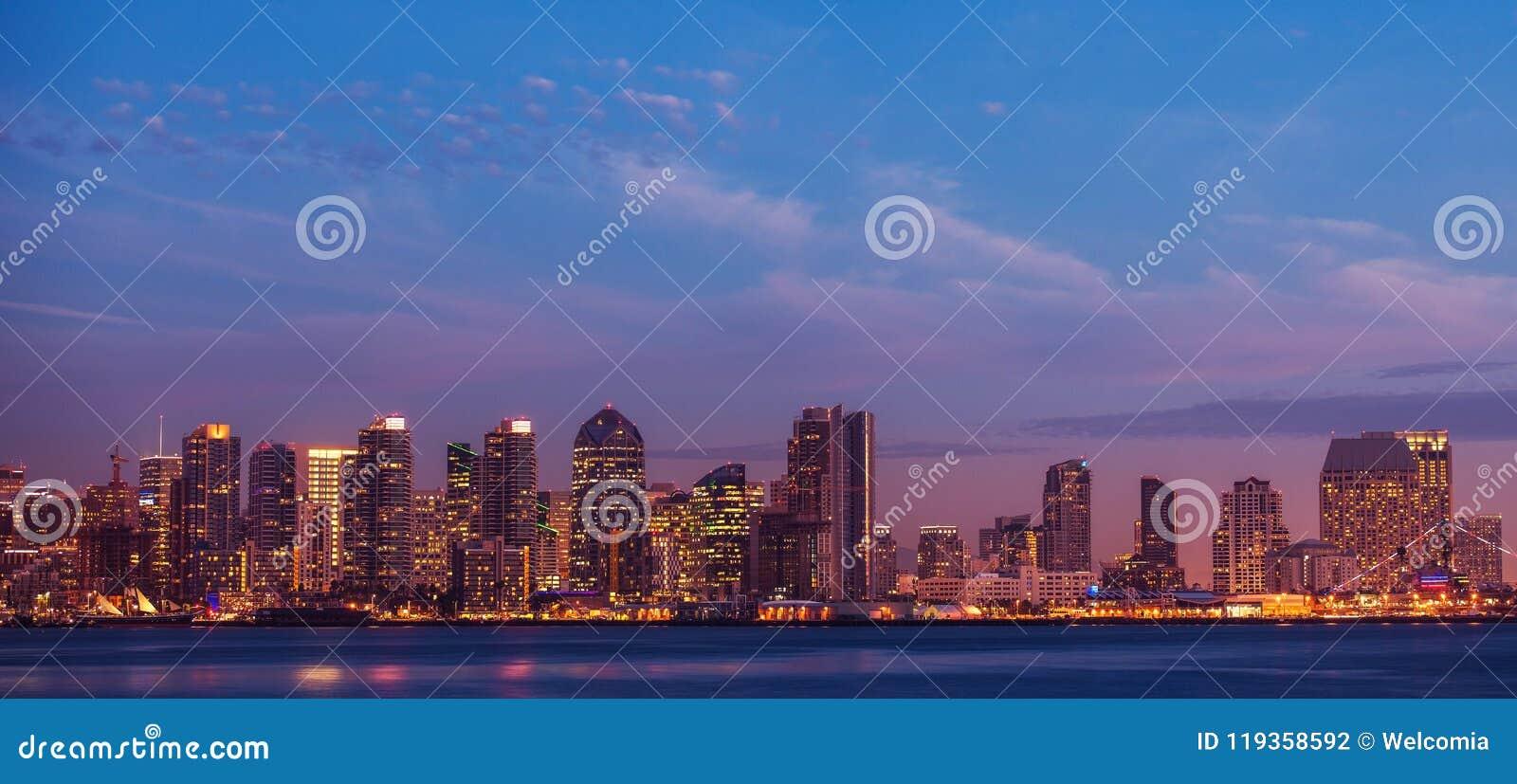 Ville de San Diego la Californie