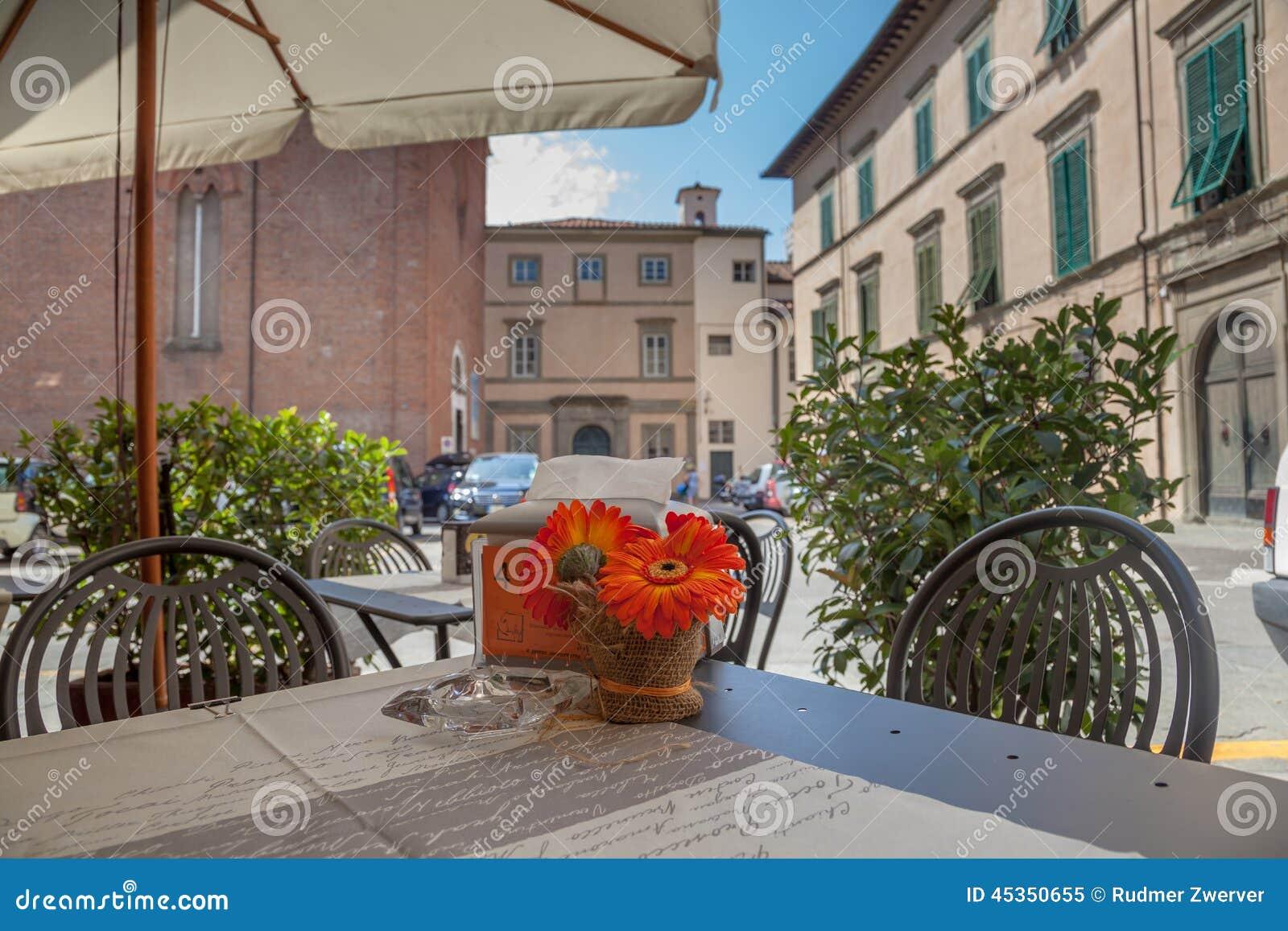 Ville de Tableau de terrasse