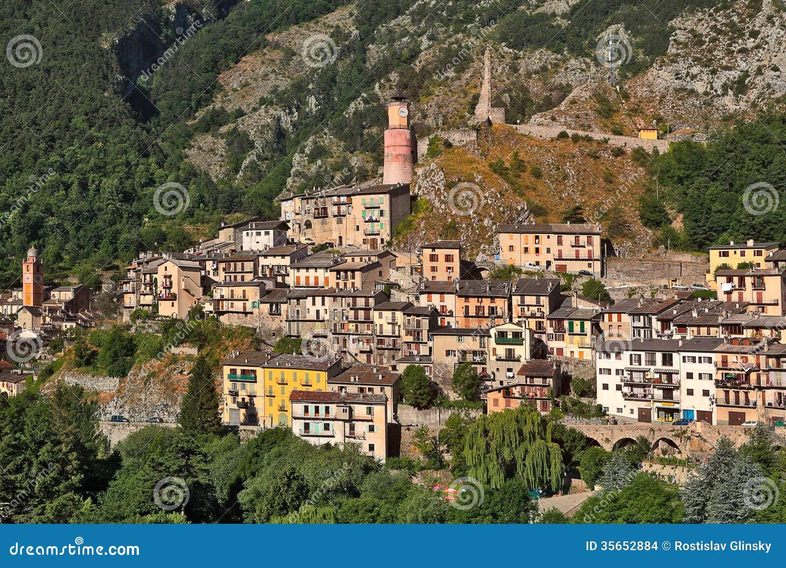 Ville de tende france images stock image 35652884 for Piscine de france