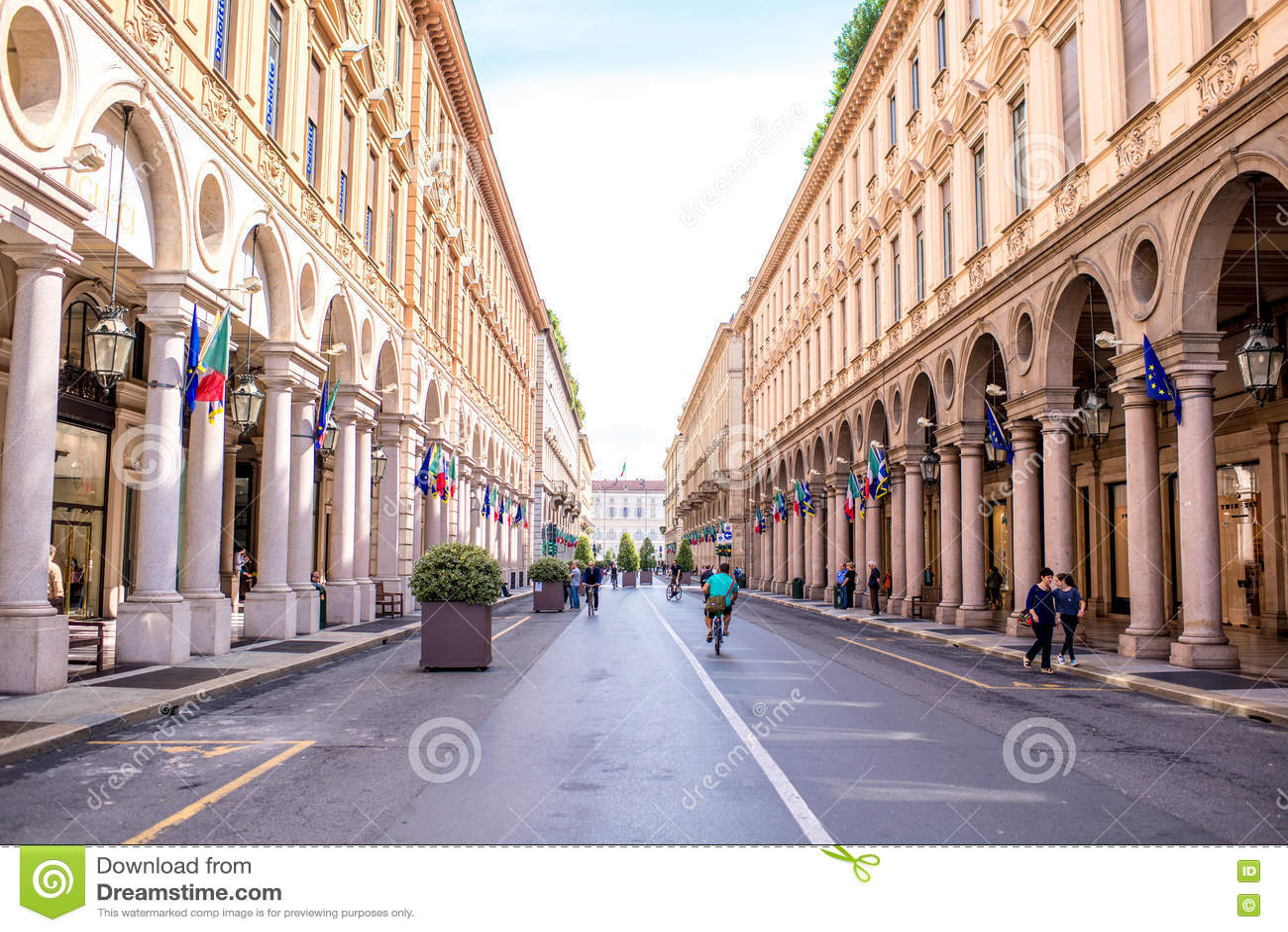 Ville de Turin en Italie