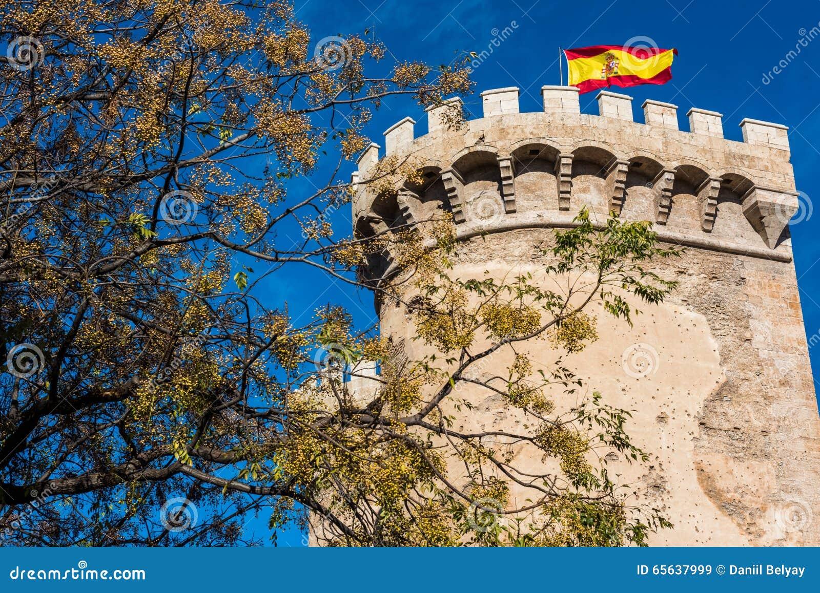 Ville de Valence - tirs de l Espagne - voyage l Europe