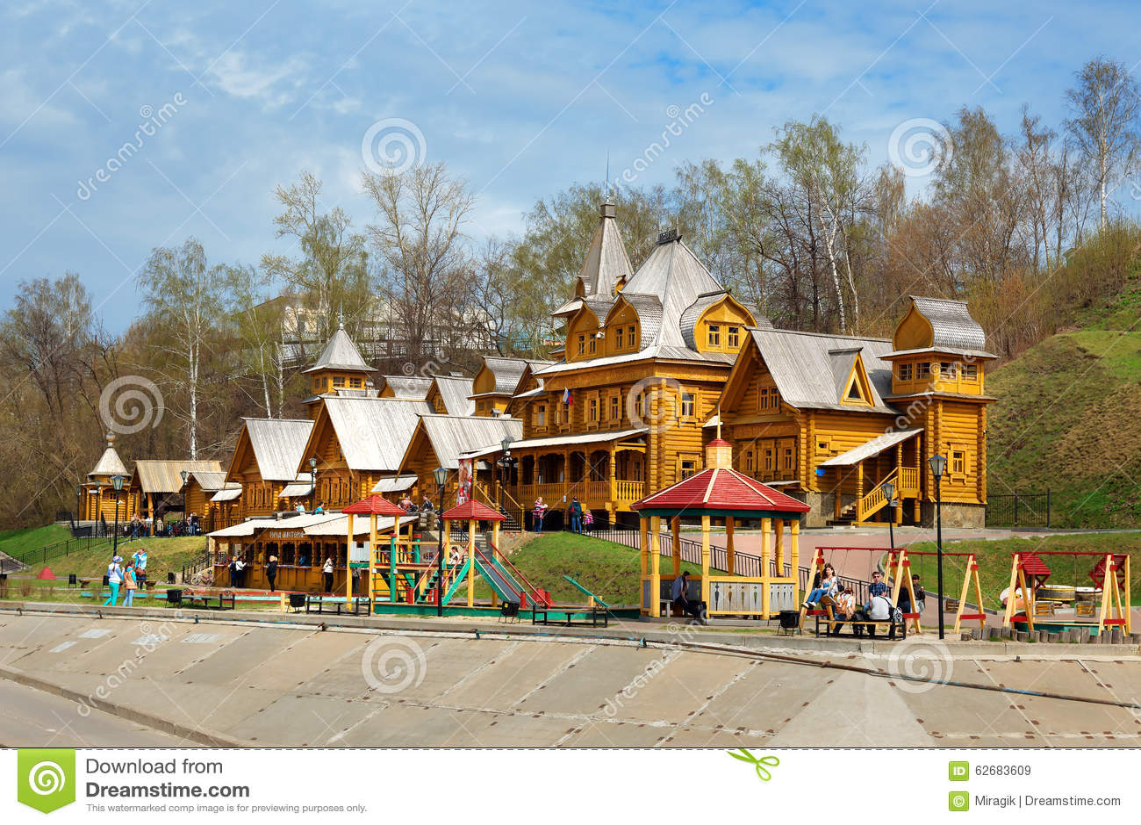 Ville des artisans dans Gorodets