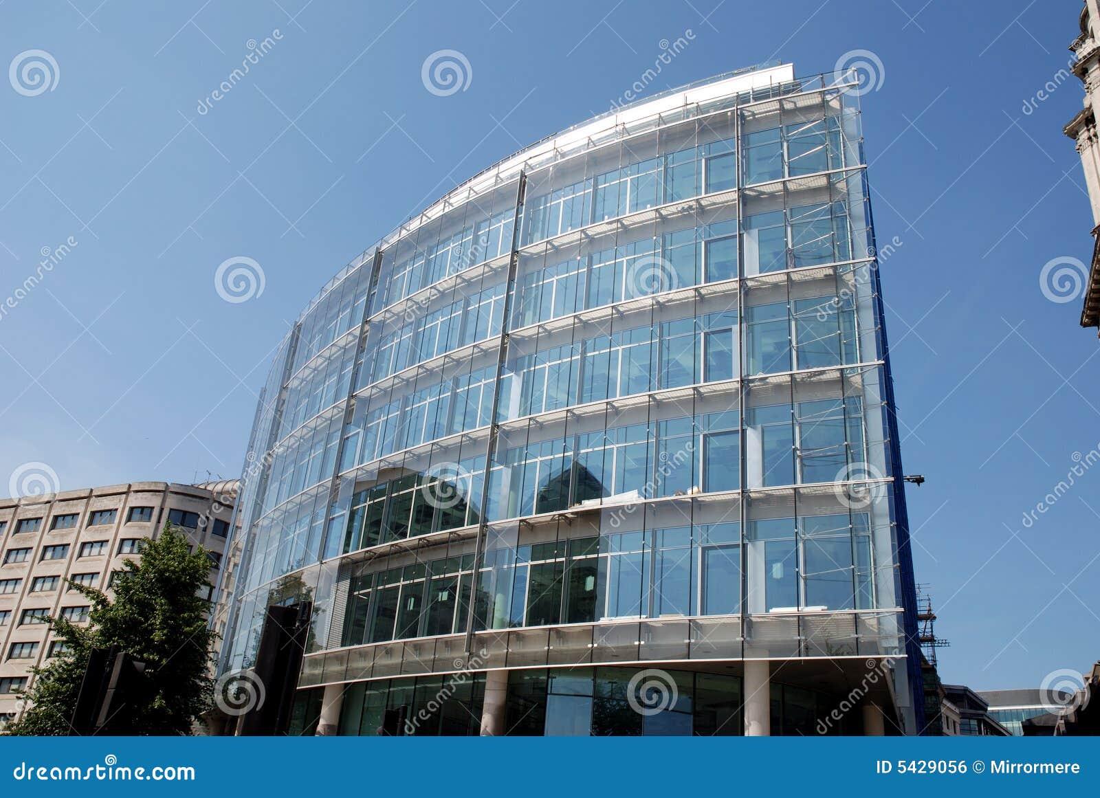 Ville en verre moderne de bloc de tour de londres photo for Hotel de ville de londres architecture