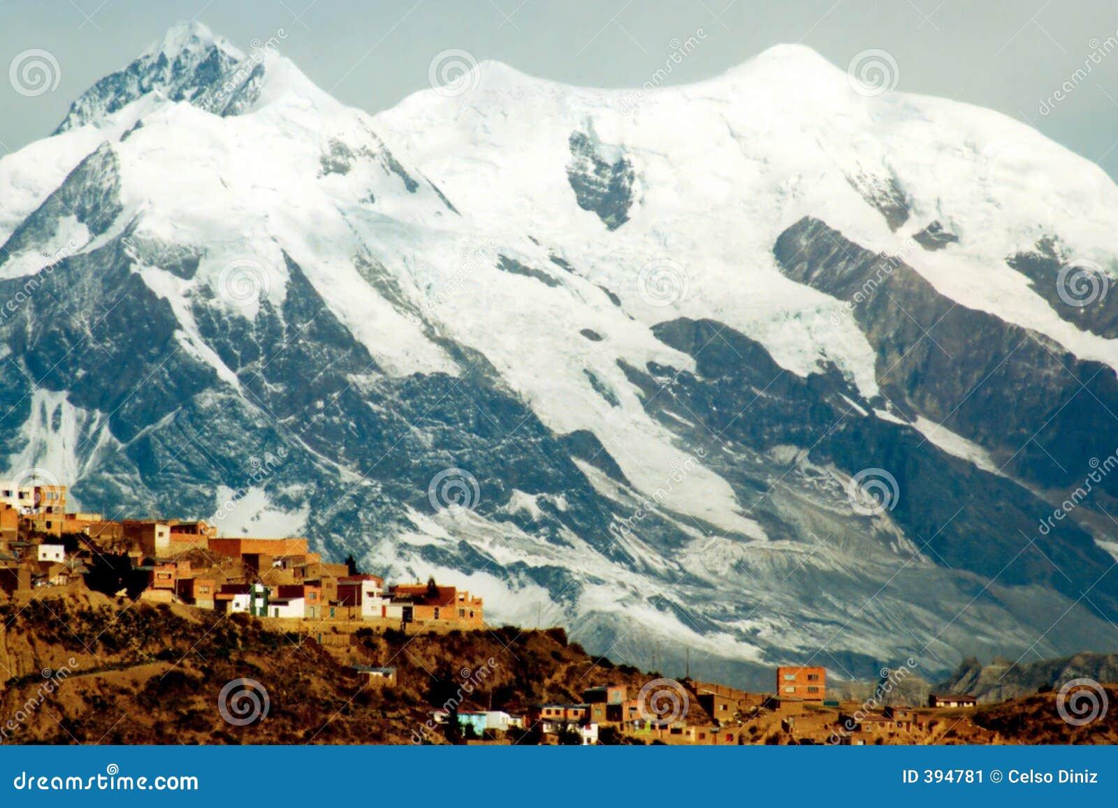Ville et montagnes de La Paz