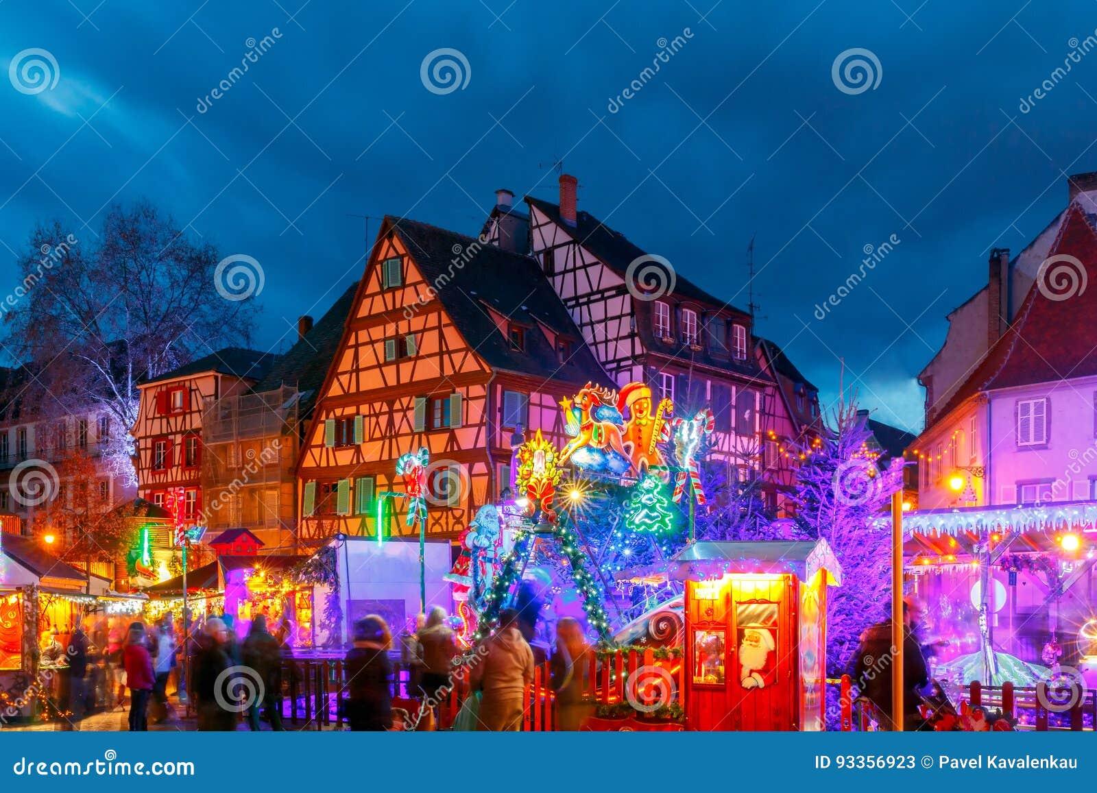 reveillon noel 2018 colmar Ville Française Colmar Le Réveillon De Noël Image stock   Image du  reveillon noel 2018 colmar