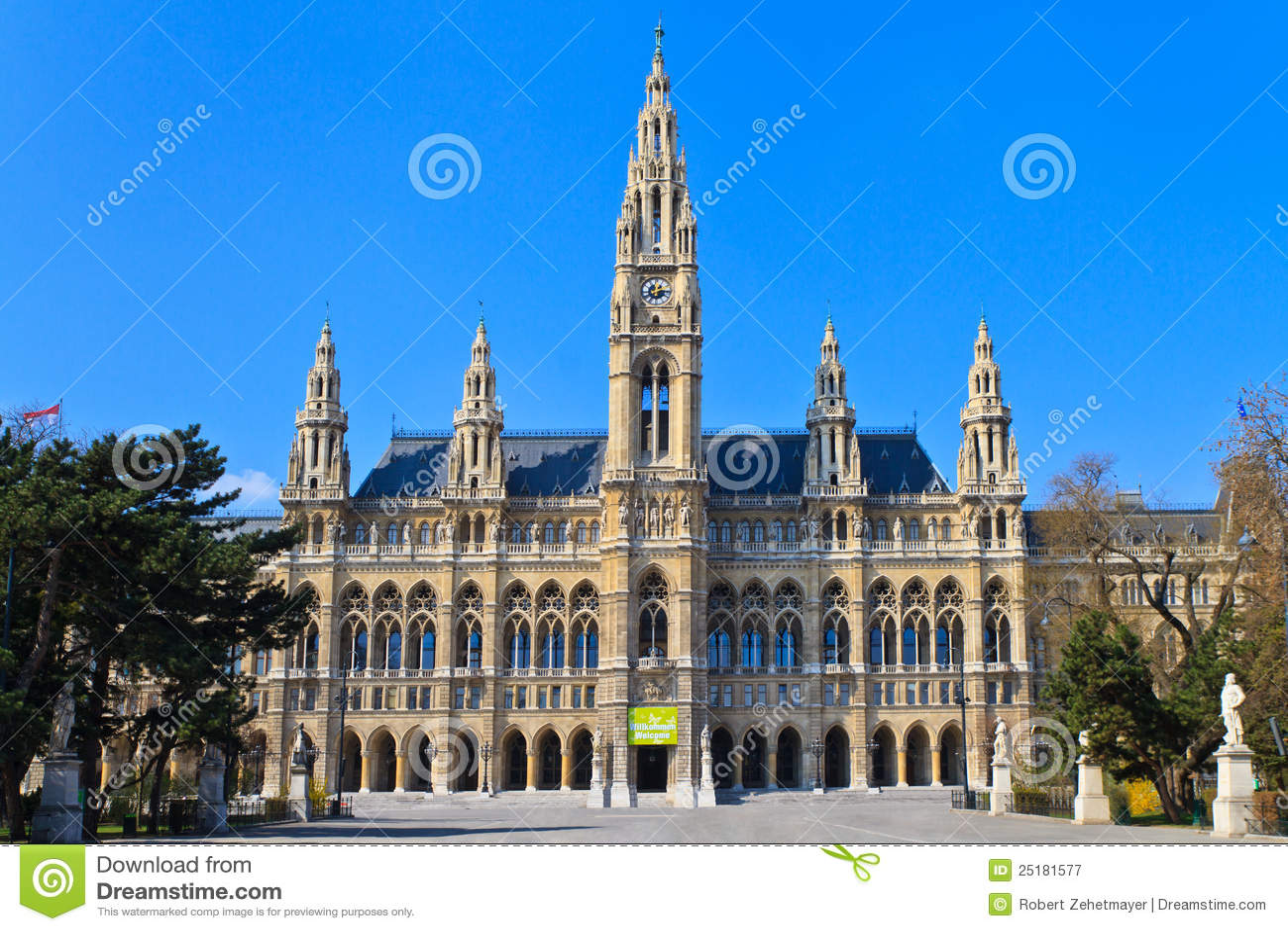 Ville hôtel de Vienne (Rathaus)