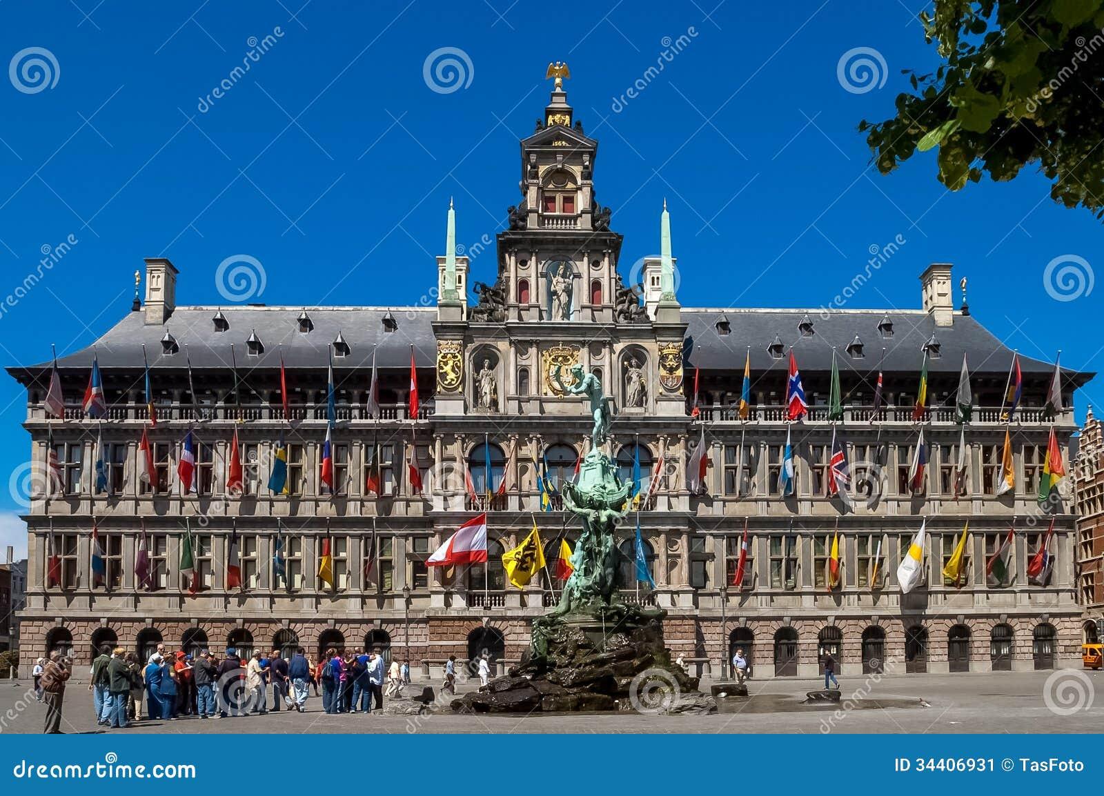 H Ef Bf Bdtel De Ville D Anvers
