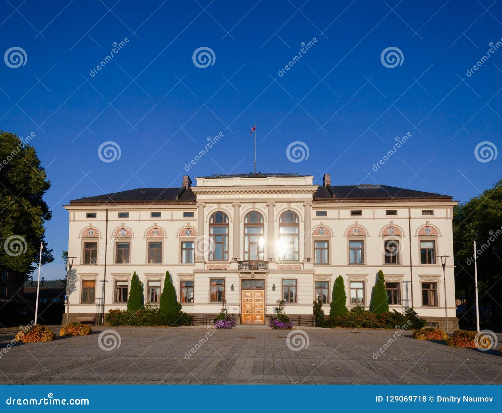 Ville Hall Telemark Norway Scandinavia de Porsgrunn