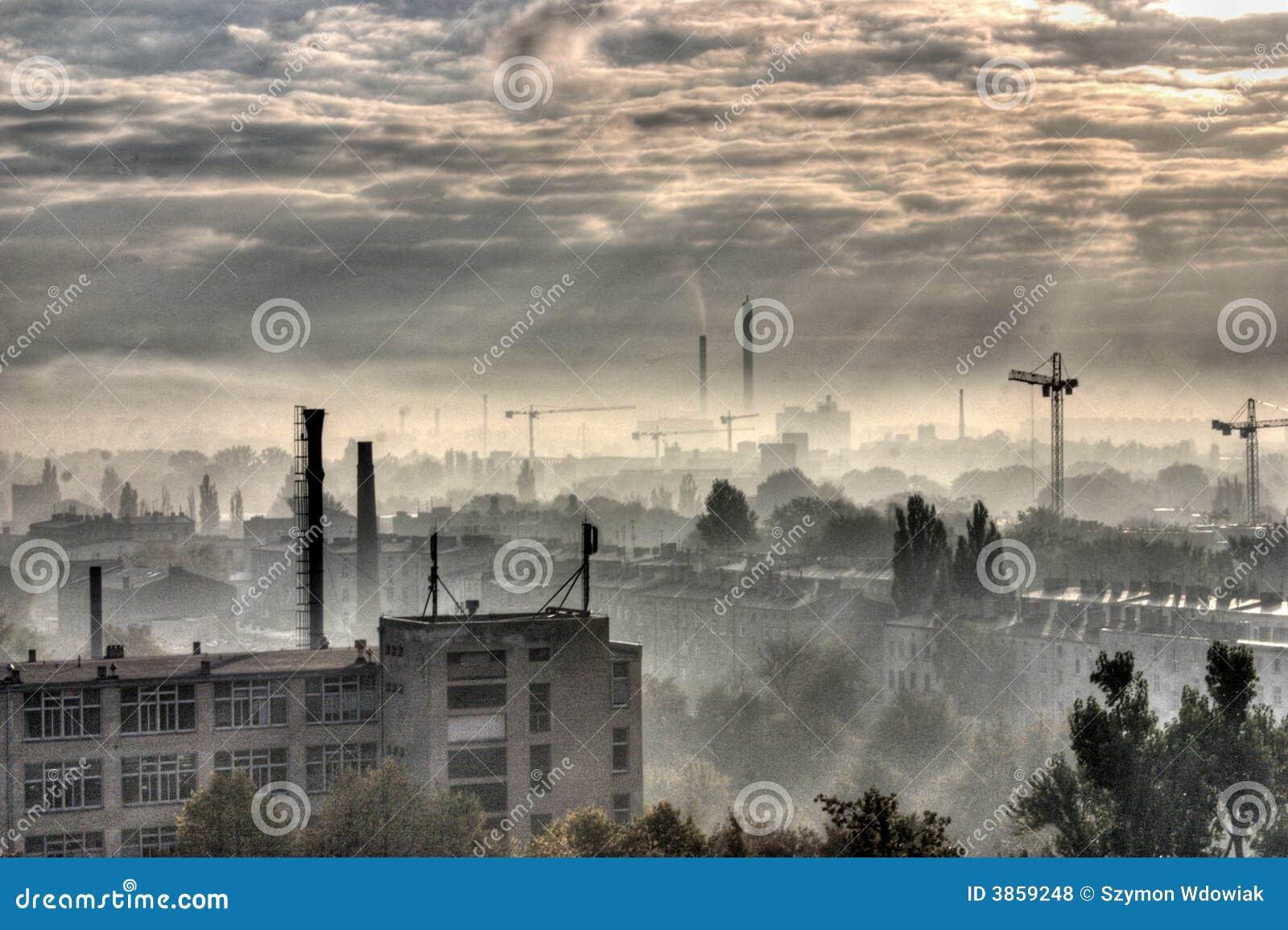 Ville industrielle - Moonscape