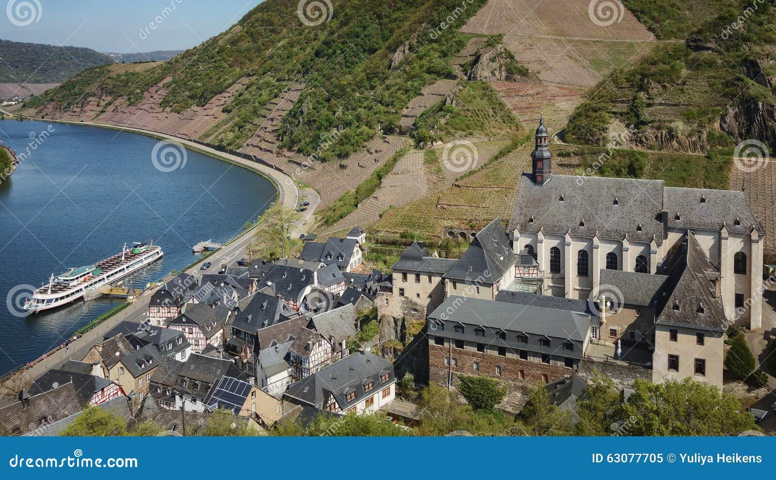 Download Ville Minuscule De Beilstein Des Winemakers Image stock - Image du pays, construction: 63077705
