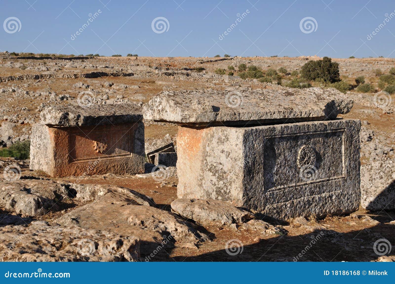 Ville morte de Serjilla, Syrie