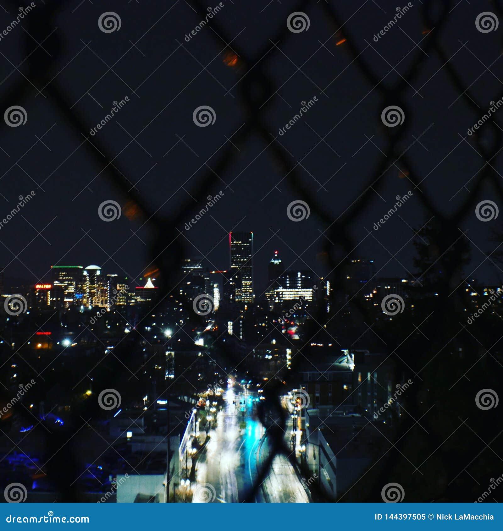 Ville par nuit