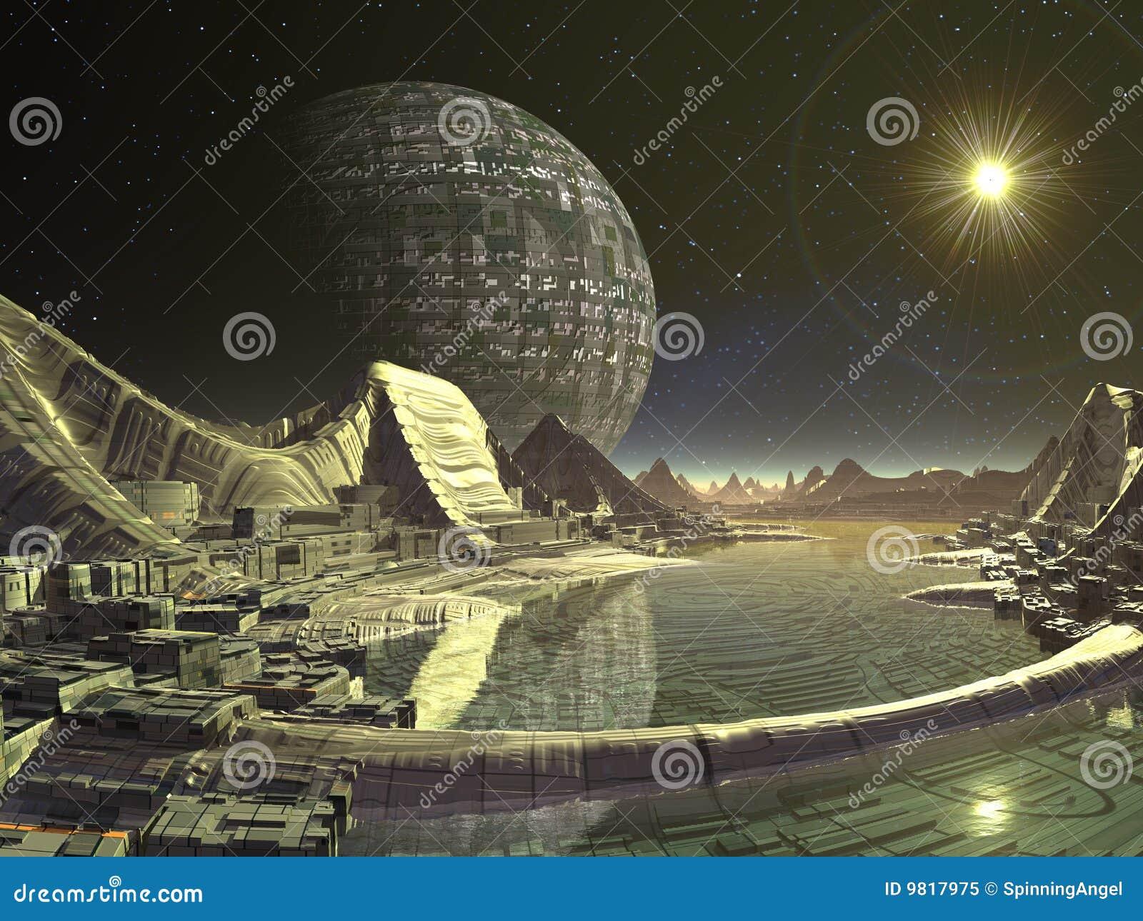Ville satellite étrangère