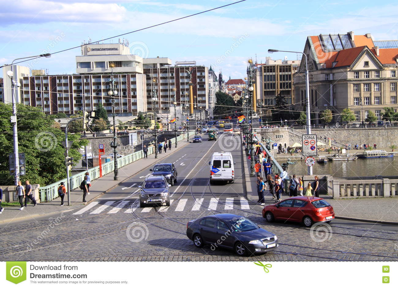 Ville vivante de Prague