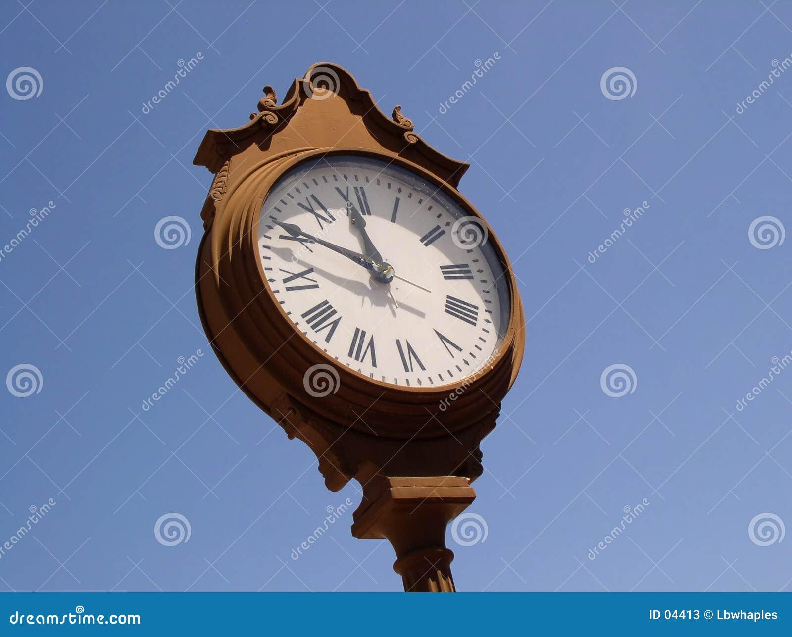 Villiage Clock I