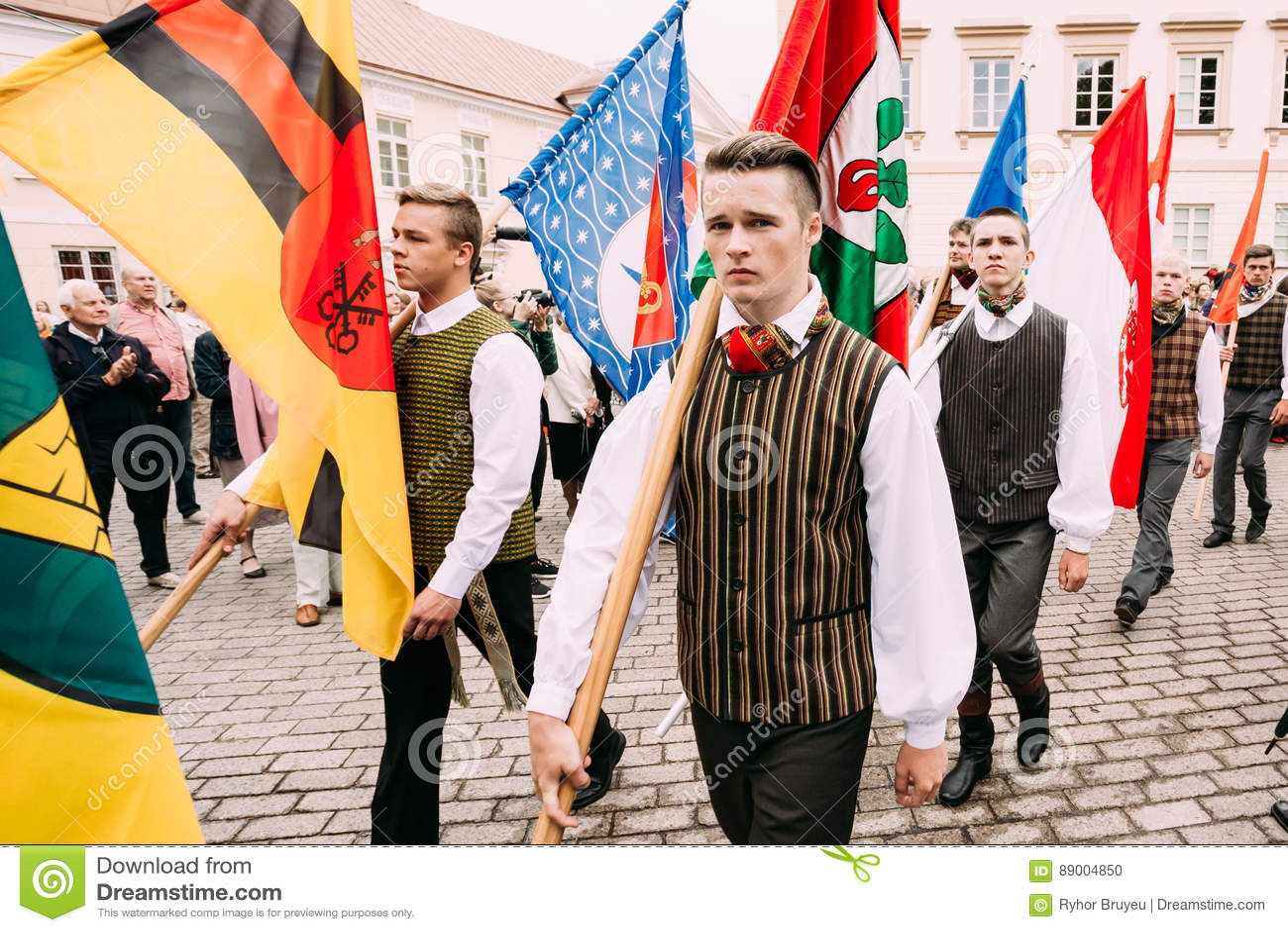 Λιθουανική εθιμοτυπία