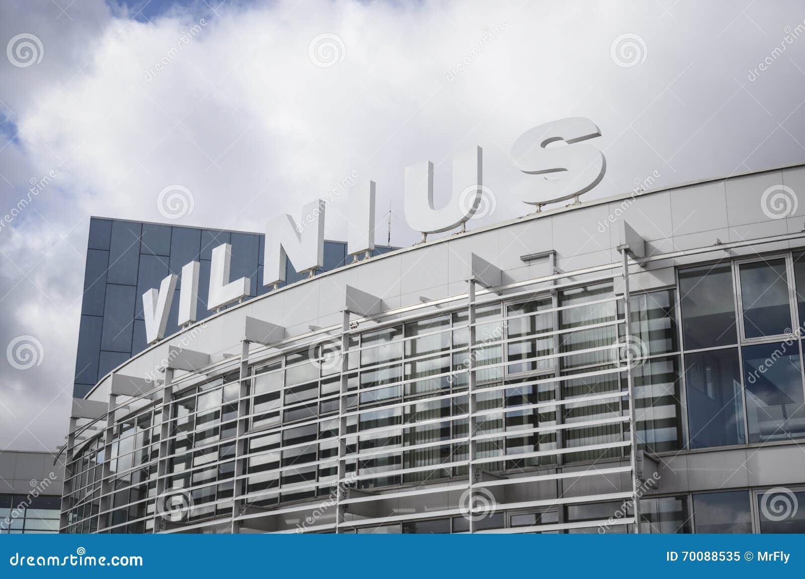 Vilnius International Airport Stock Image - Image of baltic